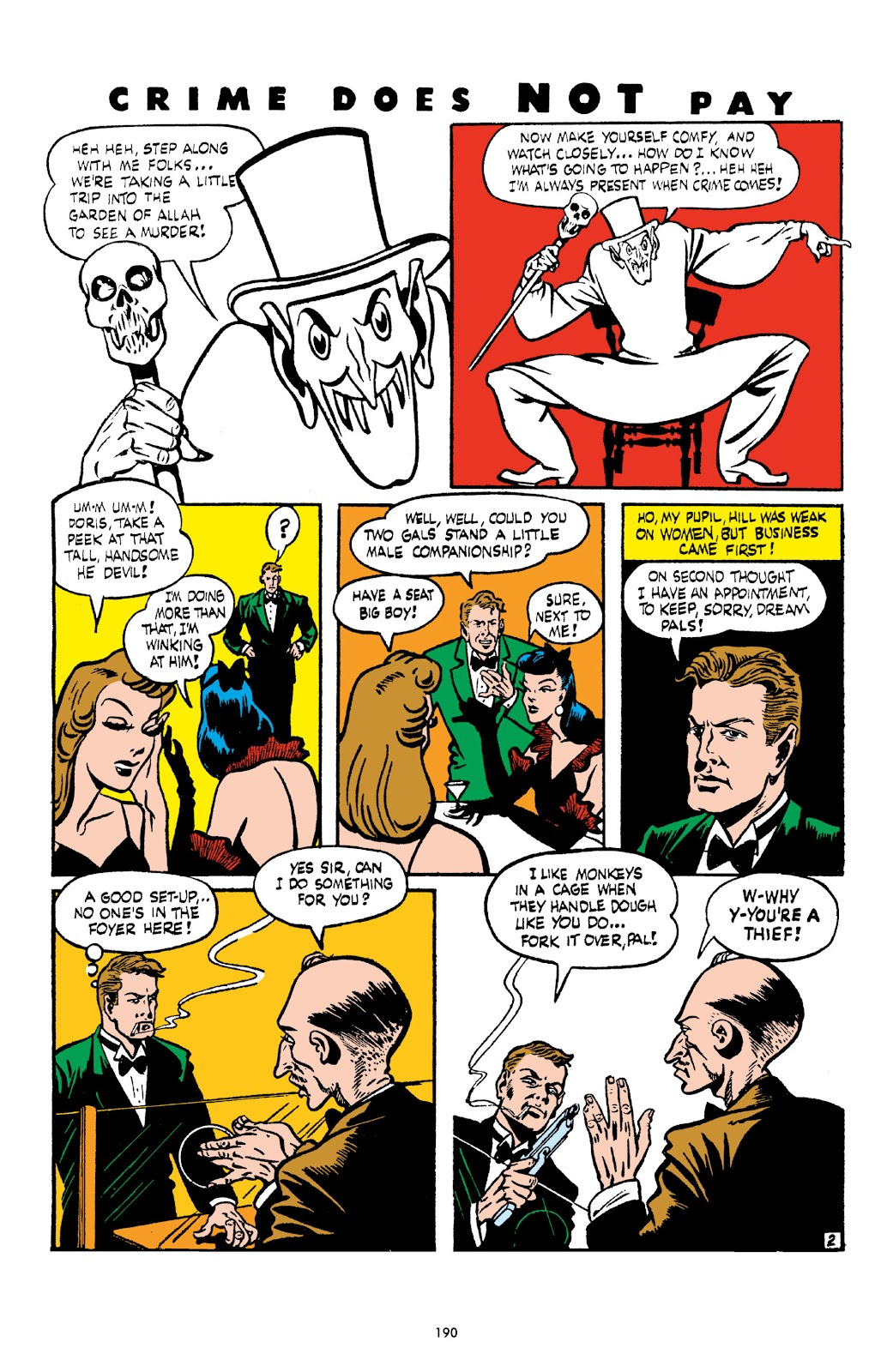 Read online Crime Does Not Pay Archives comic -  Issue # TPB 3 (Part 2) - 90