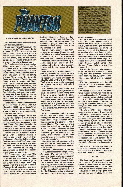 Read online The Phantom (1988) comic -  Issue #1 - 31