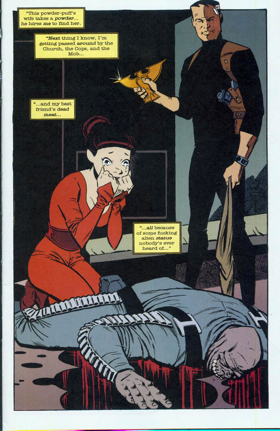 Read online Pulp Fantastic comic -  Issue #3 - 4