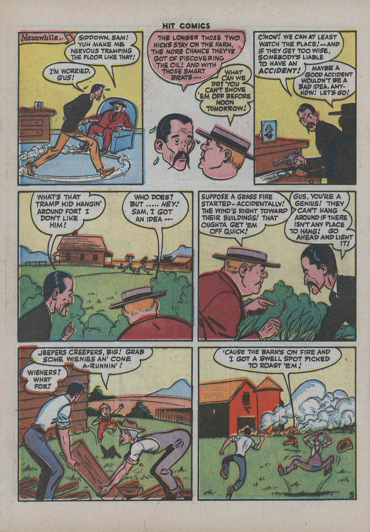 Read online Hit Comics comic -  Issue #38 - 37
