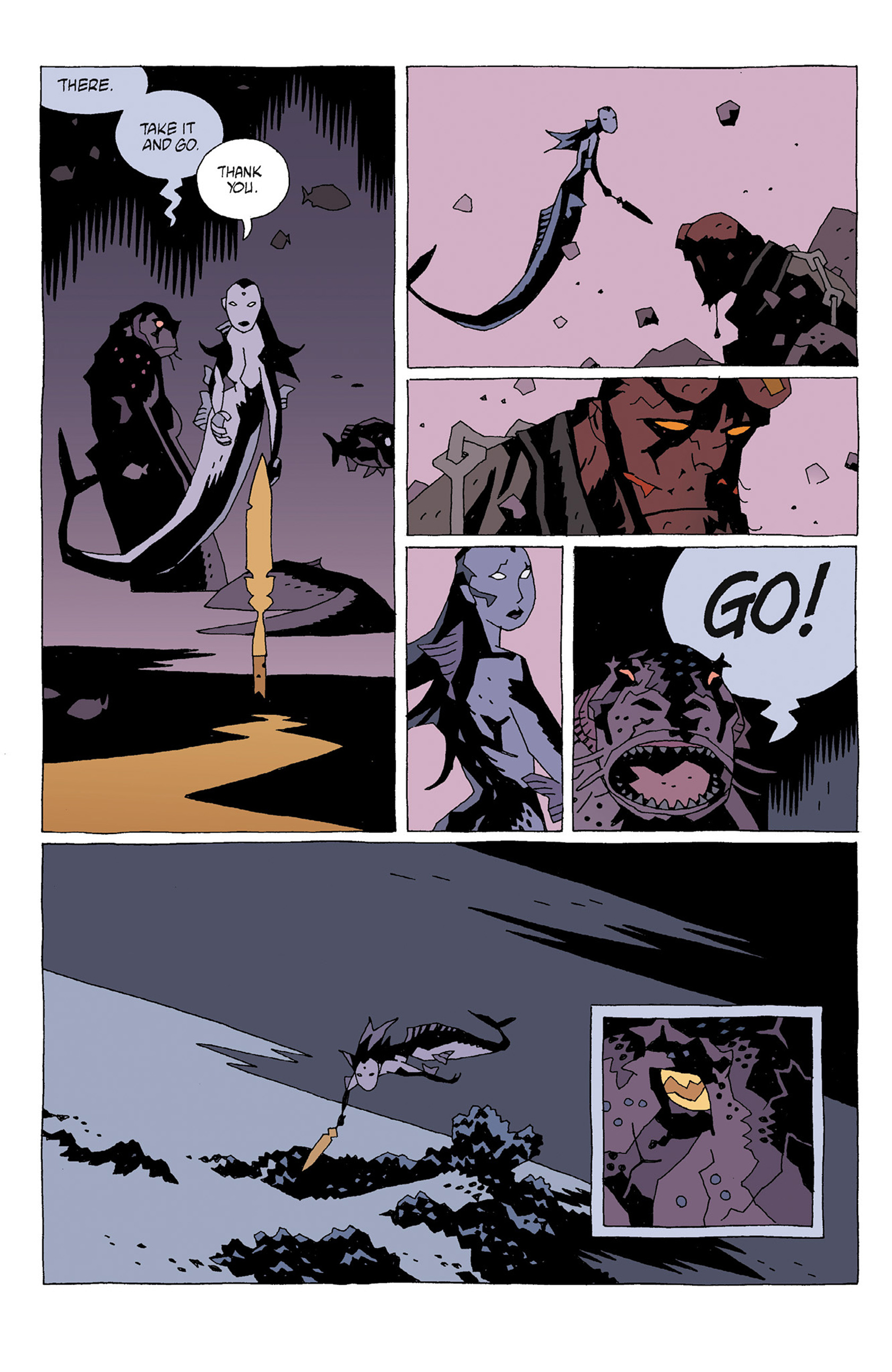 Read online Hellboy: Strange Places comic -  Issue # TPB - 36