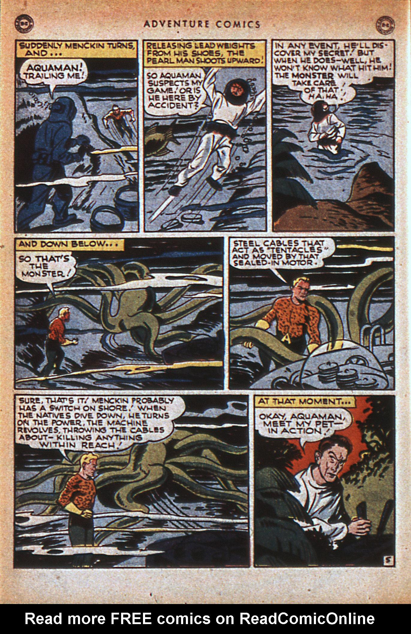 Read online Adventure Comics (1938) comic -  Issue #116 - 35