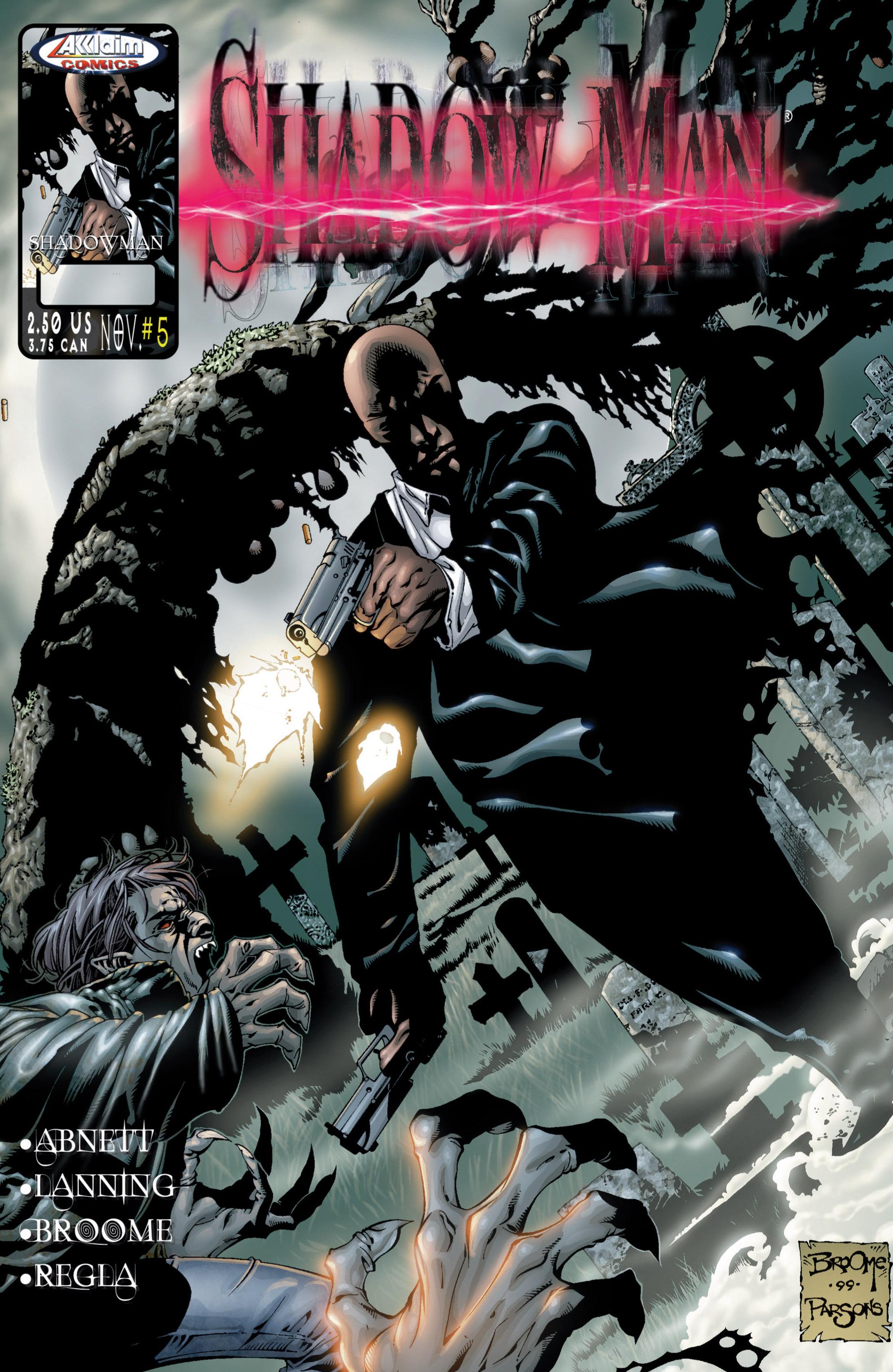 Read online Shadowman (1999) comic -  Issue #5 - 1