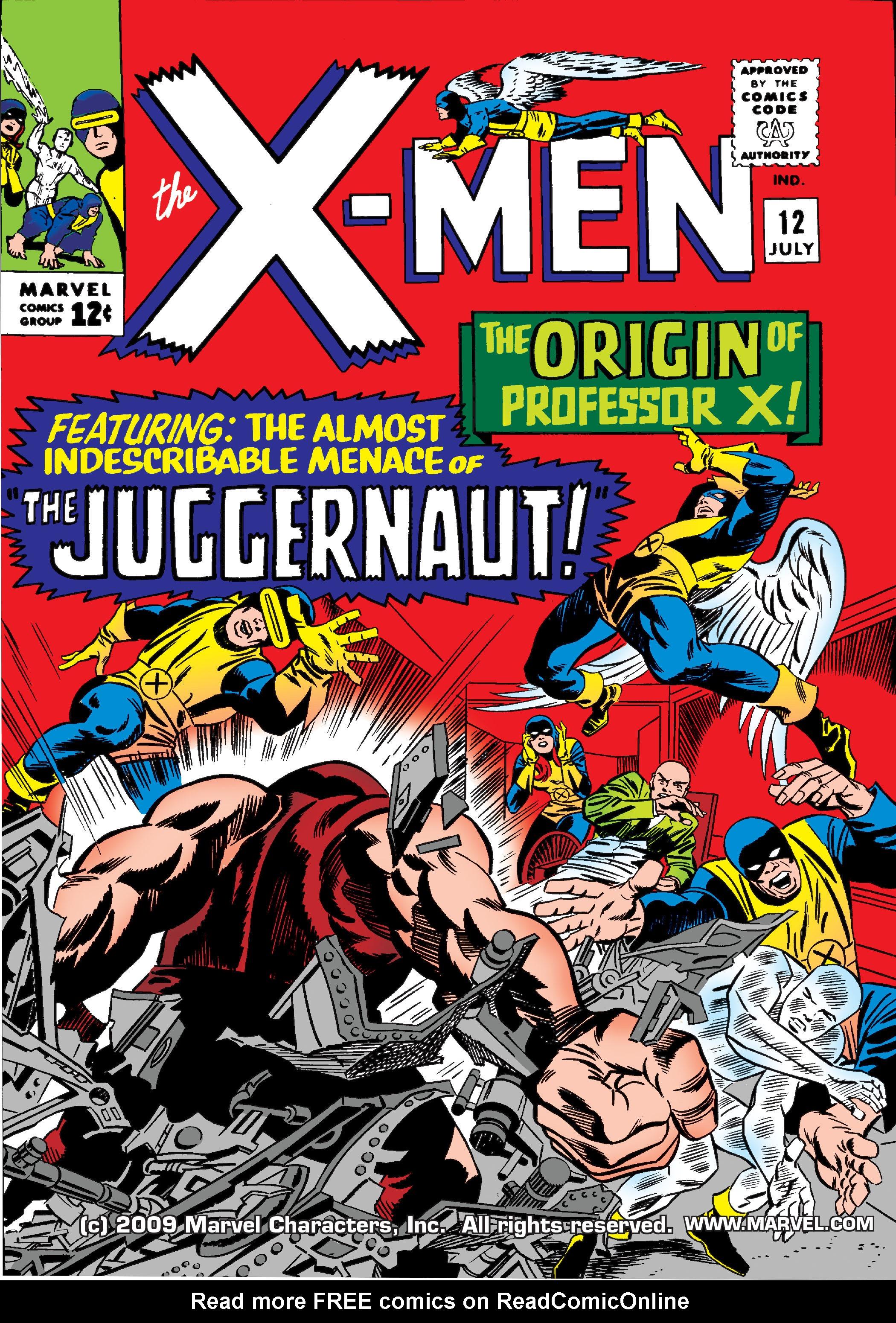 Uncanny X-Men (1963) 12 Page 0