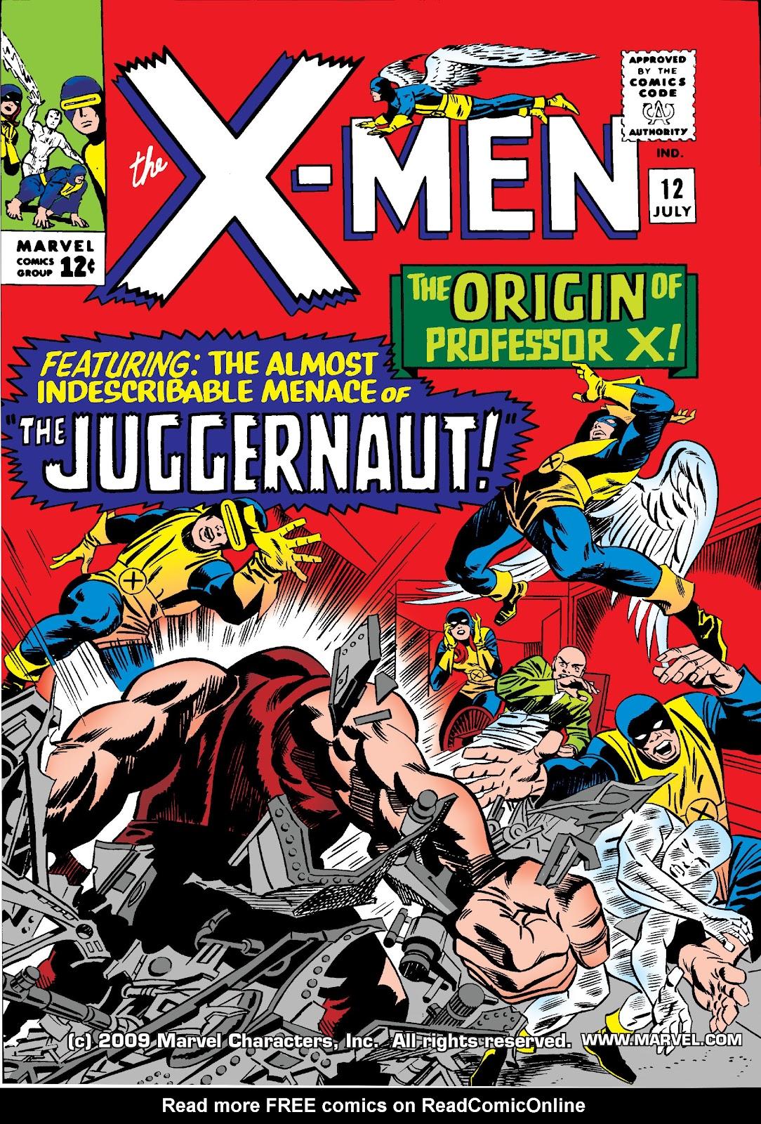 Uncanny X-Men (1963) 12 Page 1