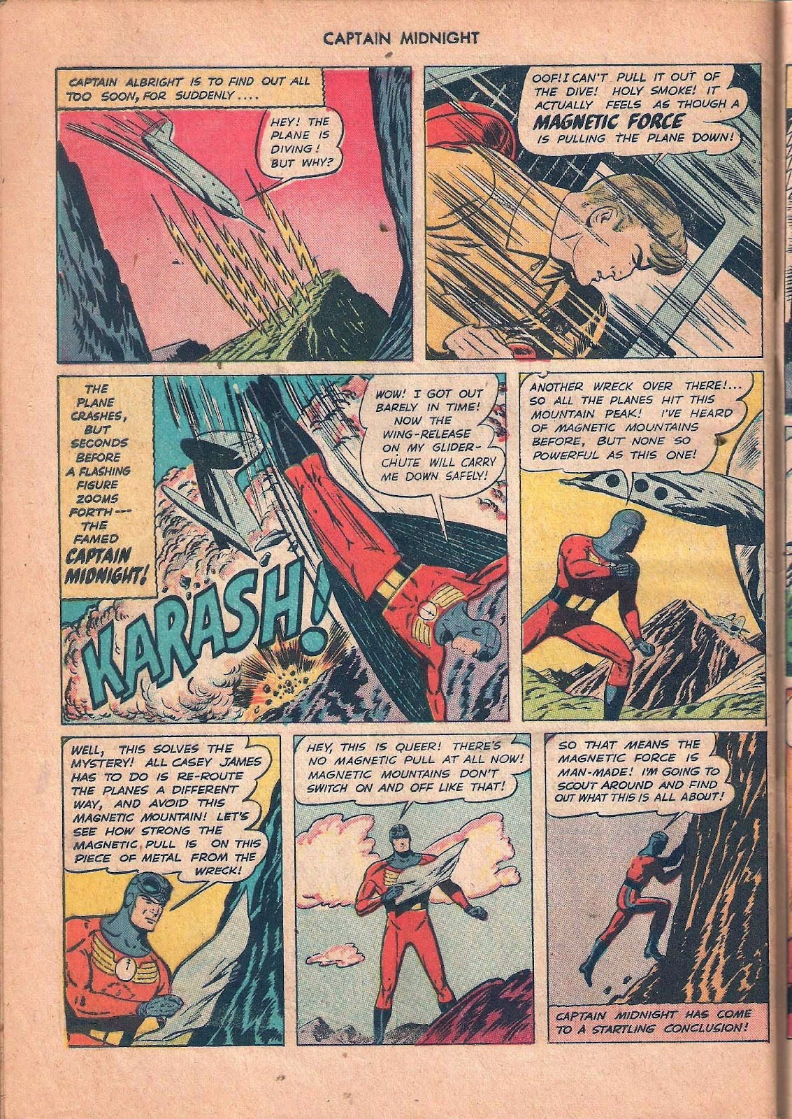 Captain Midnight (1942) issue 53 - Page 44