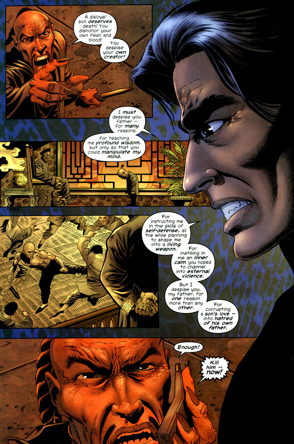 Read online Shang-Chi: Master of Kung Fu comic -  Issue #3 - 5