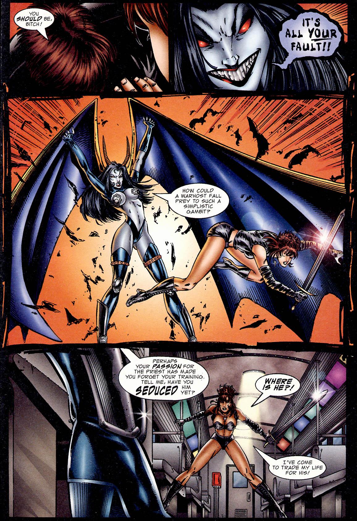 Read online Avengelyne (1995) comic -  Issue #2 - 22