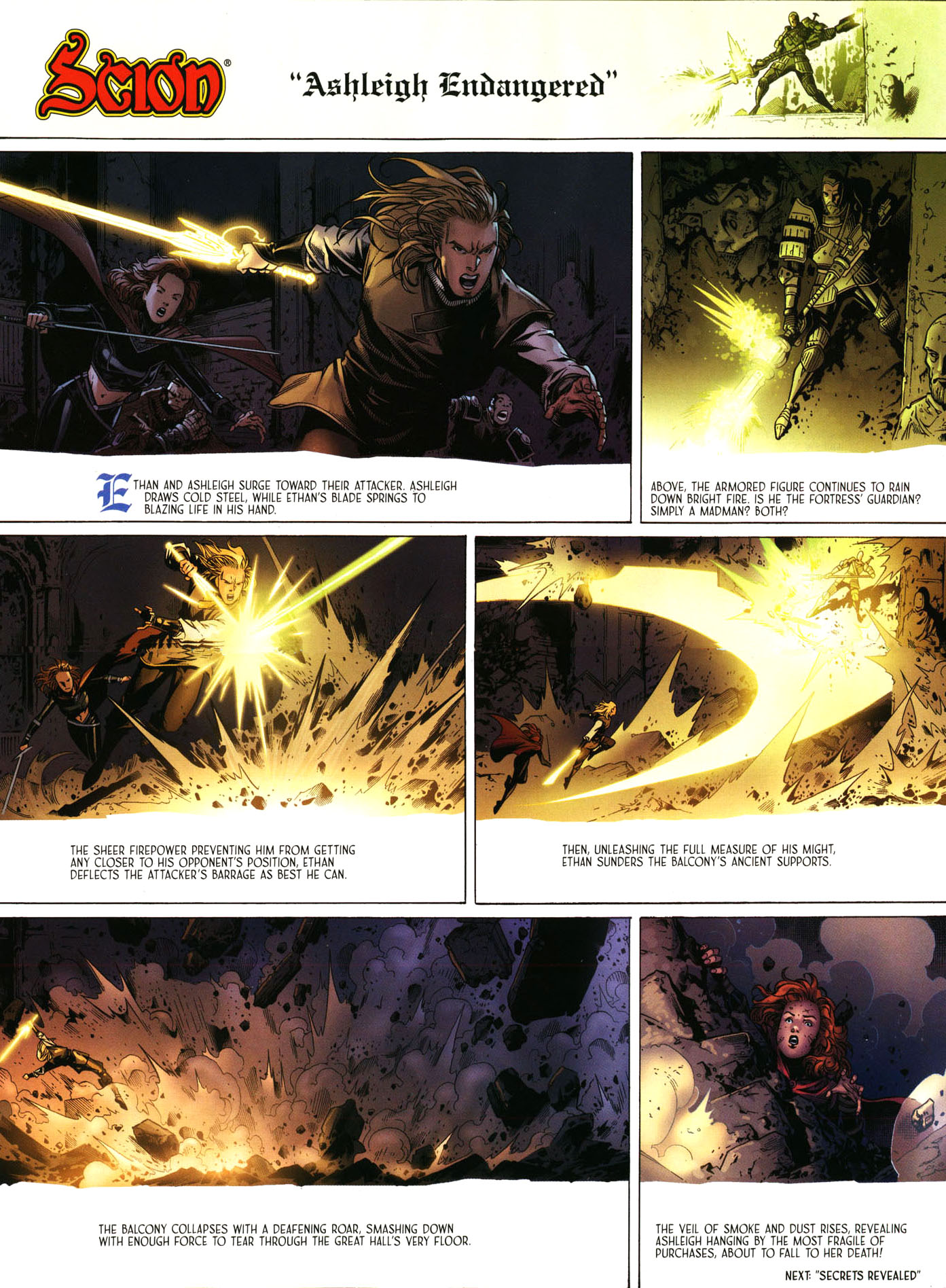 Read online Scion comic -  Issue #39 - 10