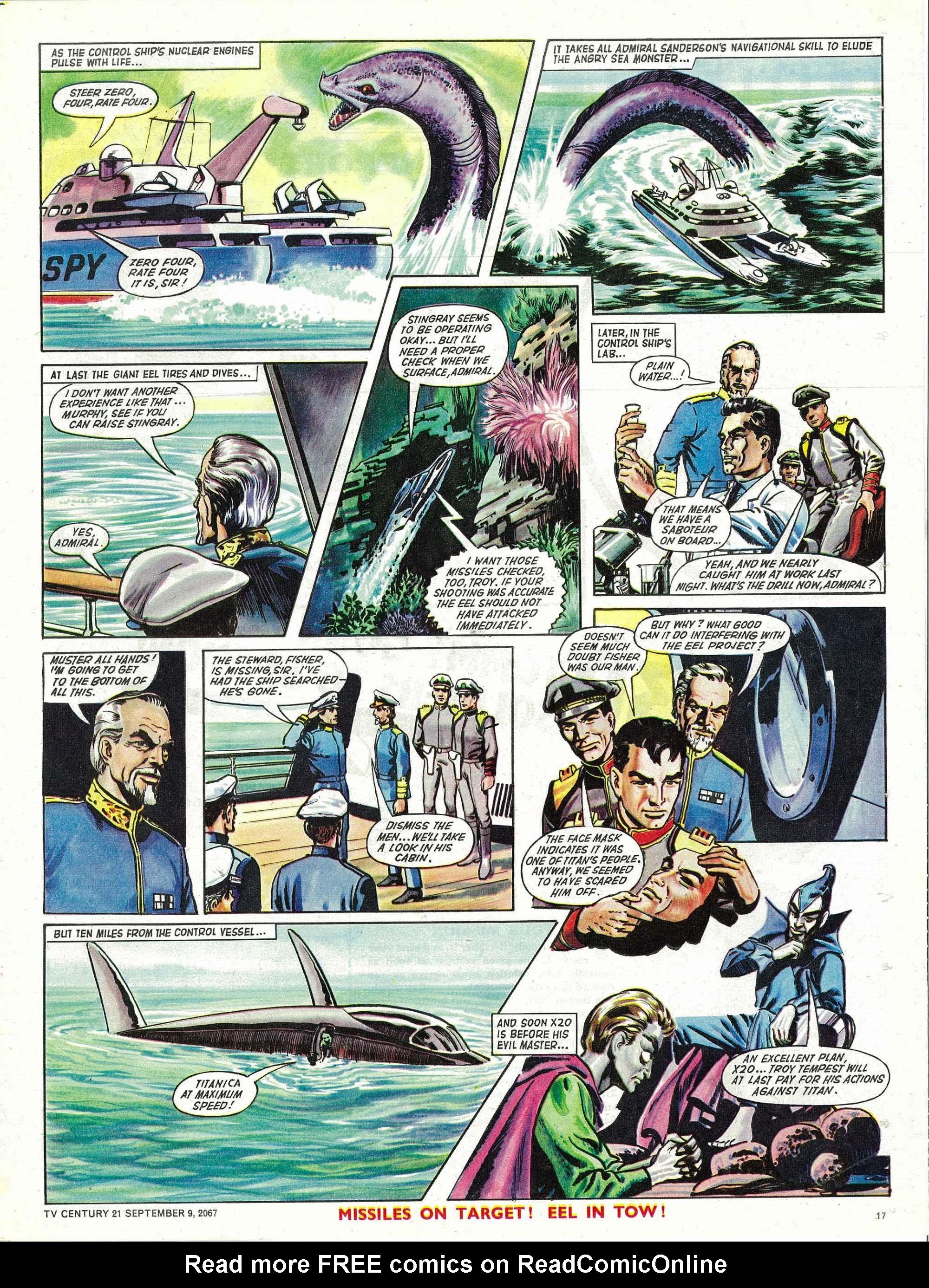 Read online TV Century 21 (TV 21) comic -  Issue #138 - 16