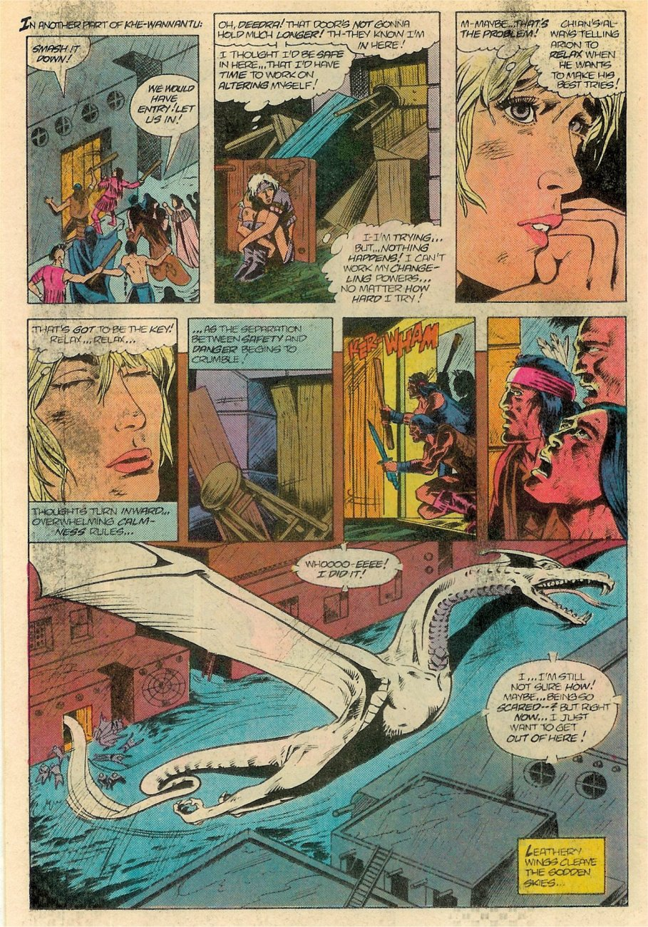 Read online Arion, Lord of Atlantis comic -  Issue #18 - 14