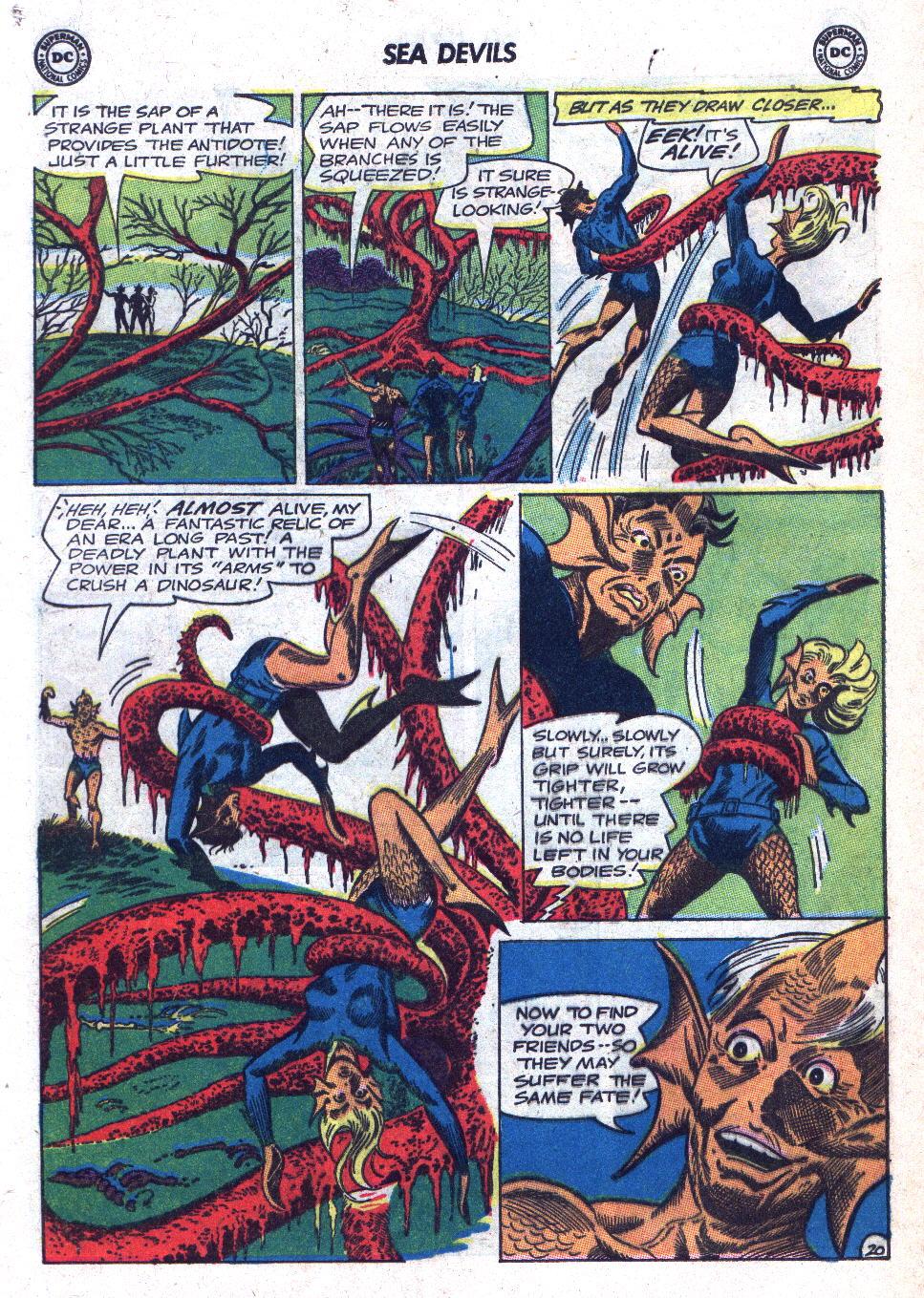 Read online Sea Devils comic -  Issue #18 - 28
