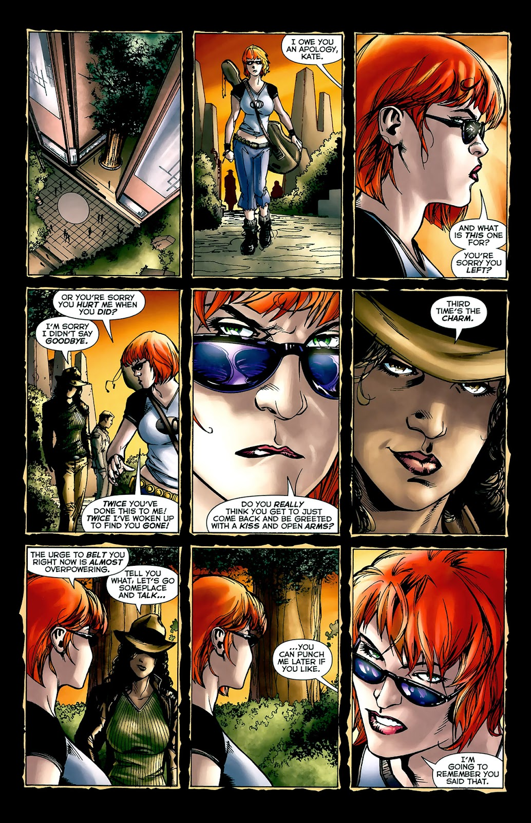 Crime Bible: The Five Lessons of Blood issue 3 - Page 9