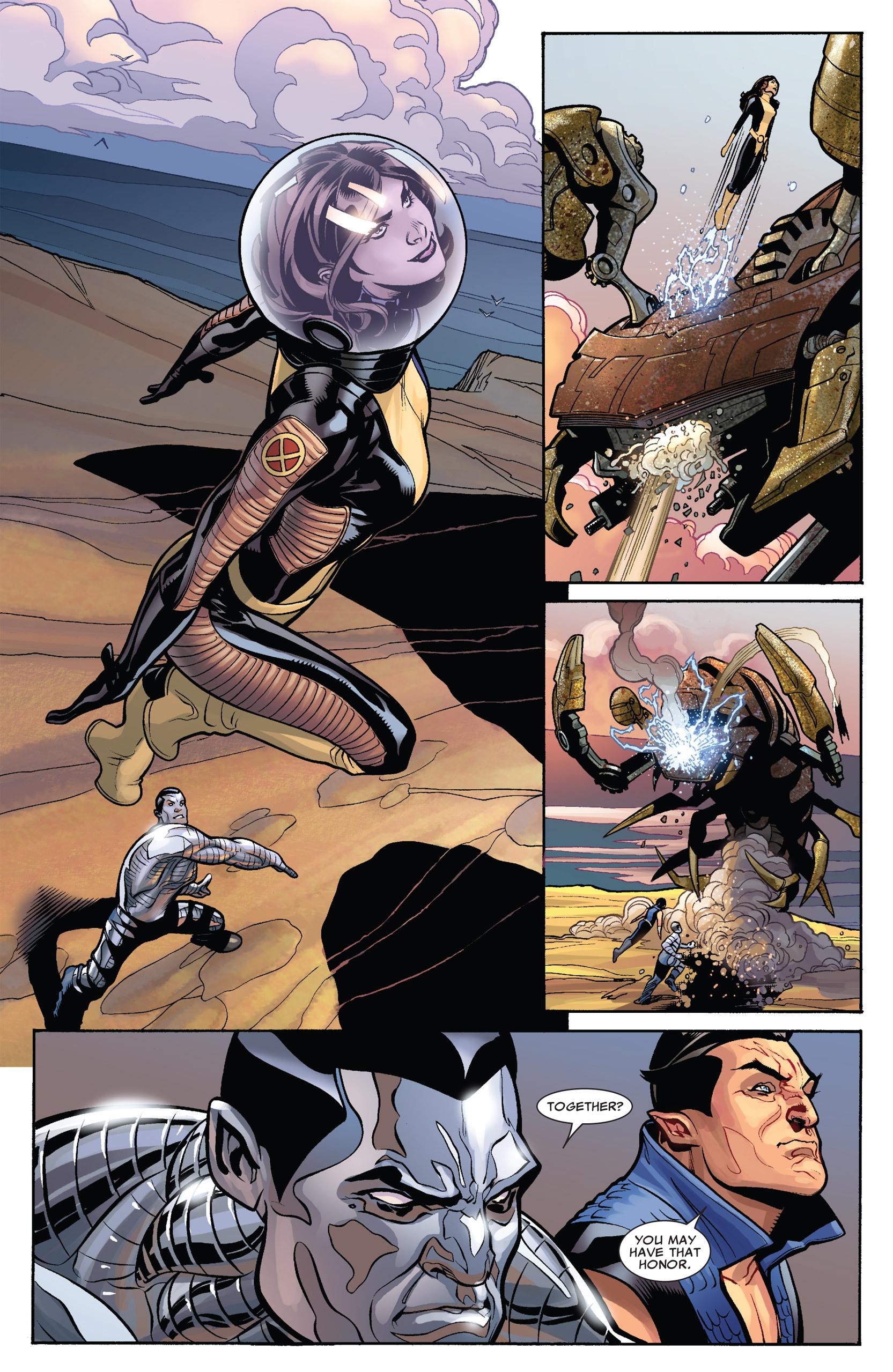 Read online Uncanny X-Men (1963) comic -  Issue #535 - 7