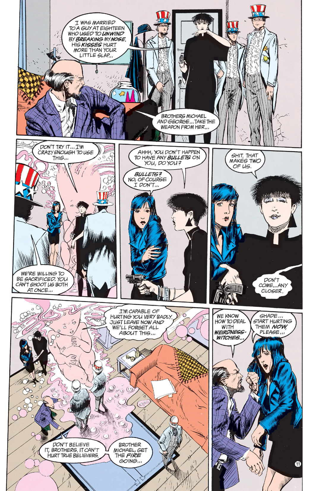 Read online Shade, the Changing Man comic -  Issue #9 - 9