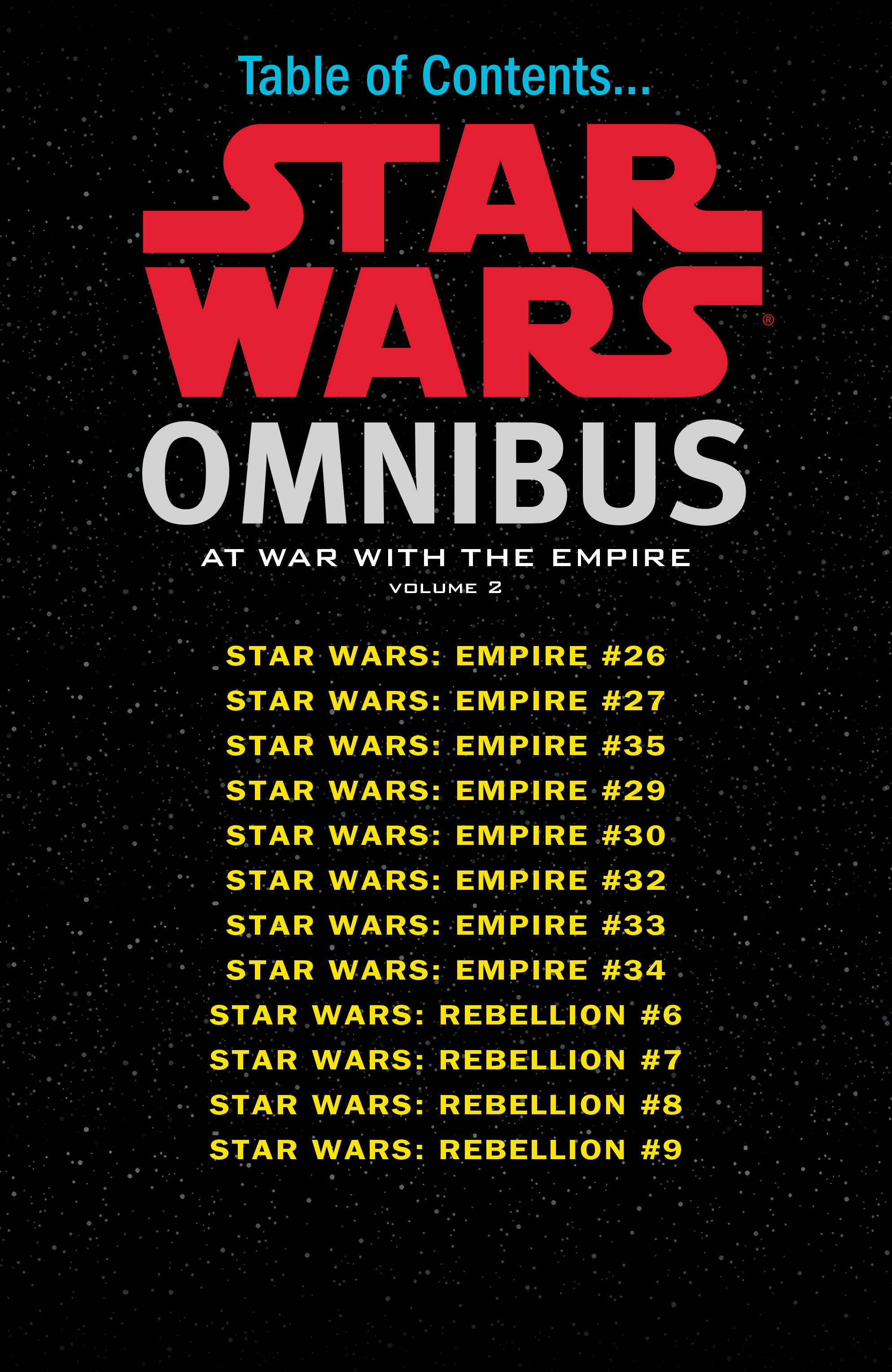 Read online Star Wars Omnibus comic -  Issue # Vol. 20 - 3