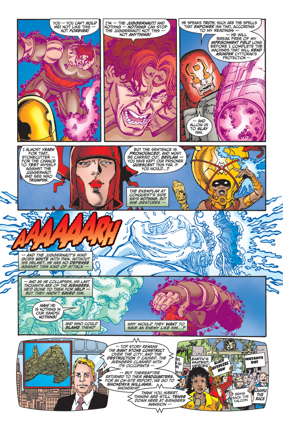 Read online Avengers (1998) comic -  Issue #25 - 4