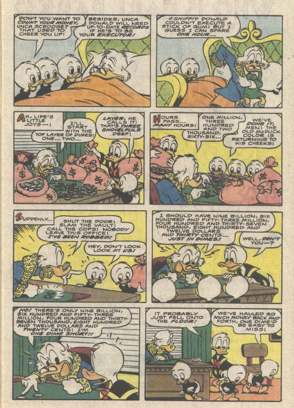 Read online Uncle Scrooge (1953) comic -  Issue #223 - 9