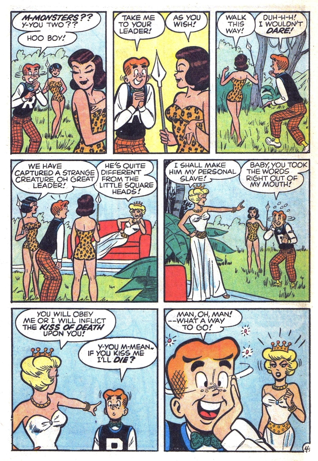 Read online Archie (1960) comic -  Issue #131 - 32