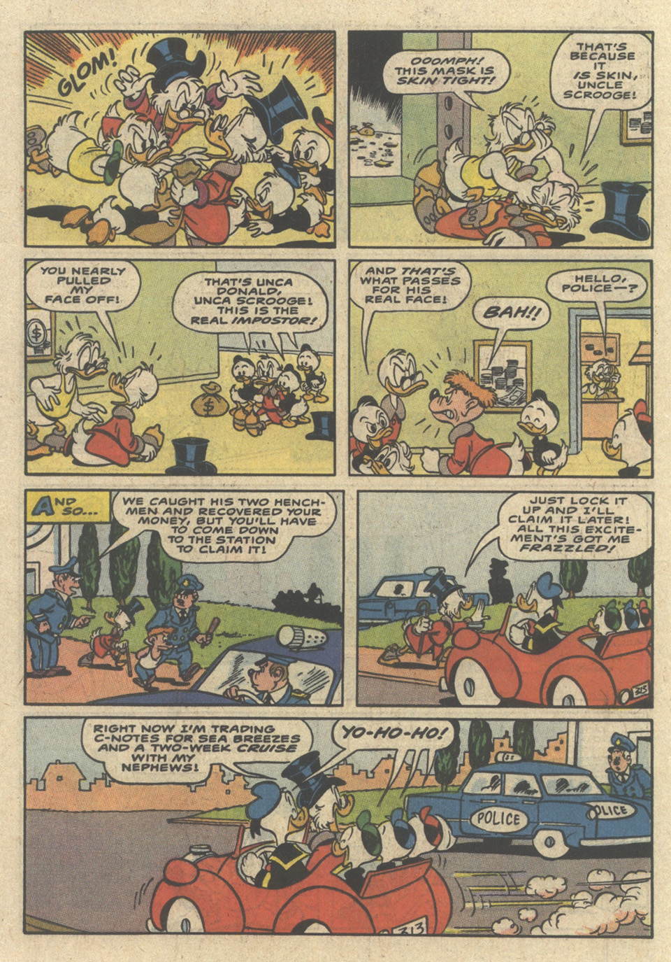 Read online Uncle Scrooge (1953) comic -  Issue #229 - 34