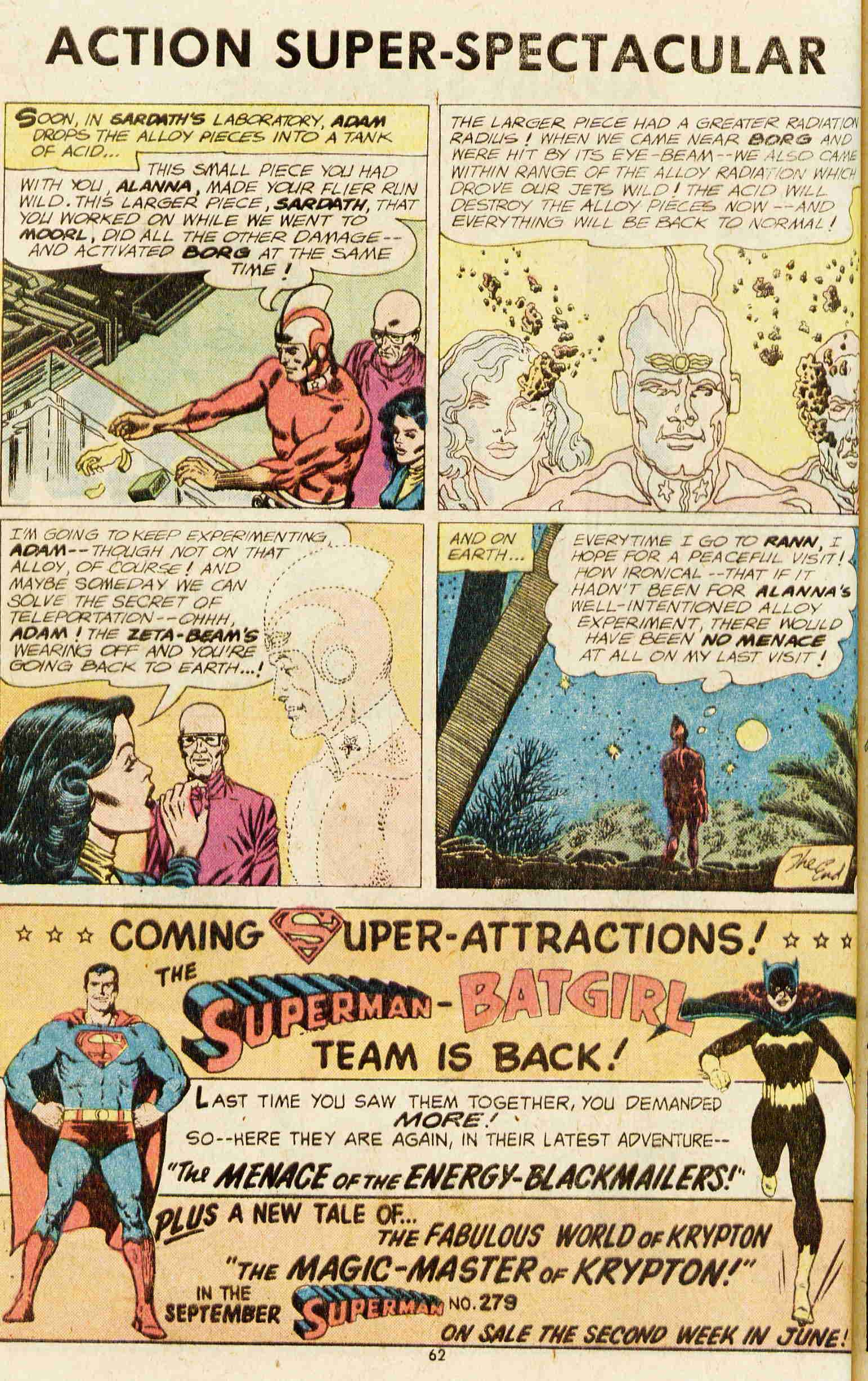 Read online Action Comics (1938) comic -  Issue #437 - 52