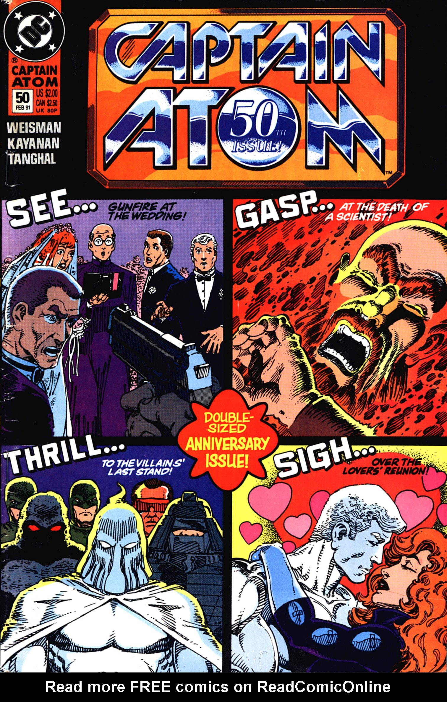 Captain Atom (1987) 50 Page 1