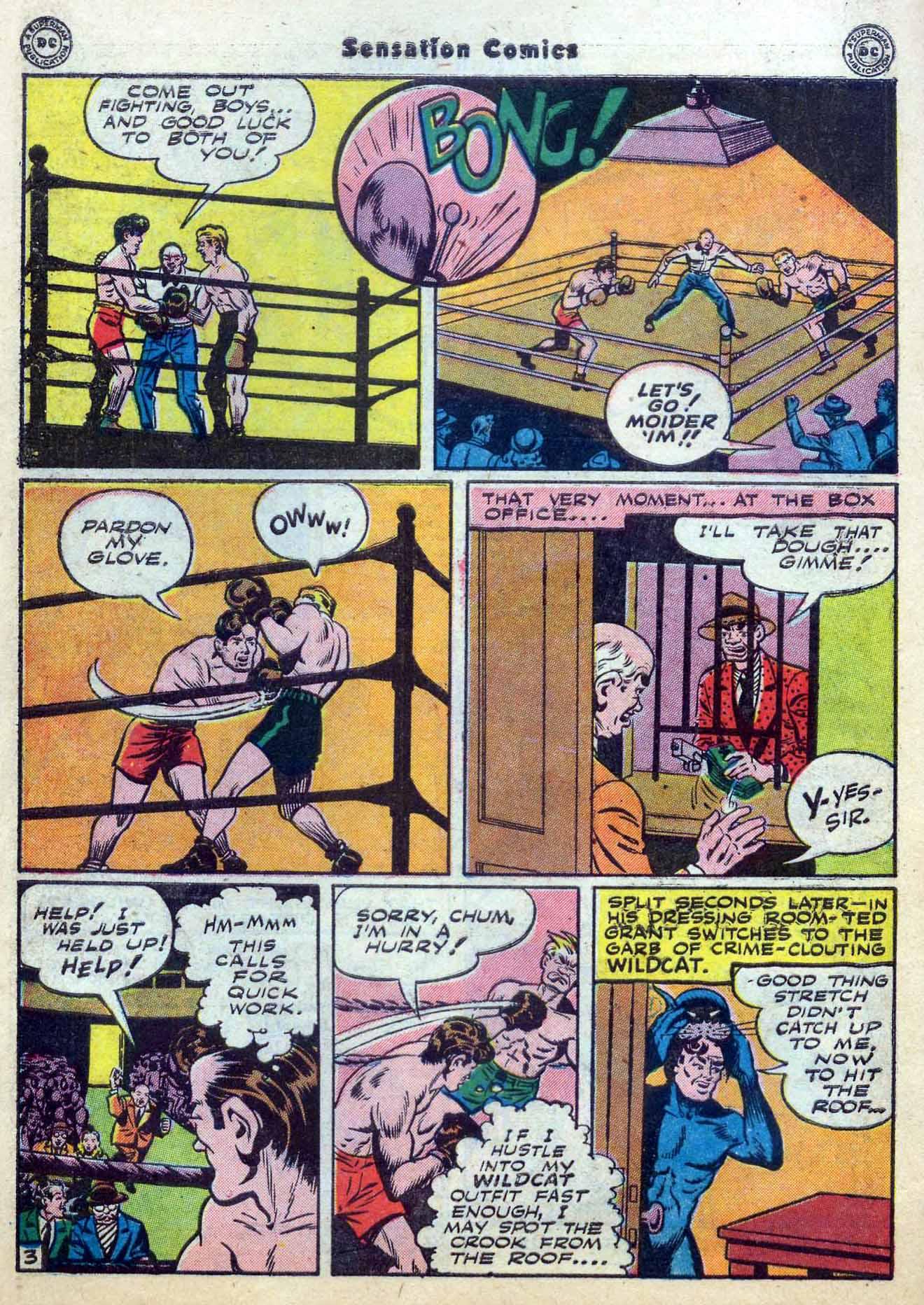 Read online Sensation (Mystery) Comics comic -  Issue #59 - 44