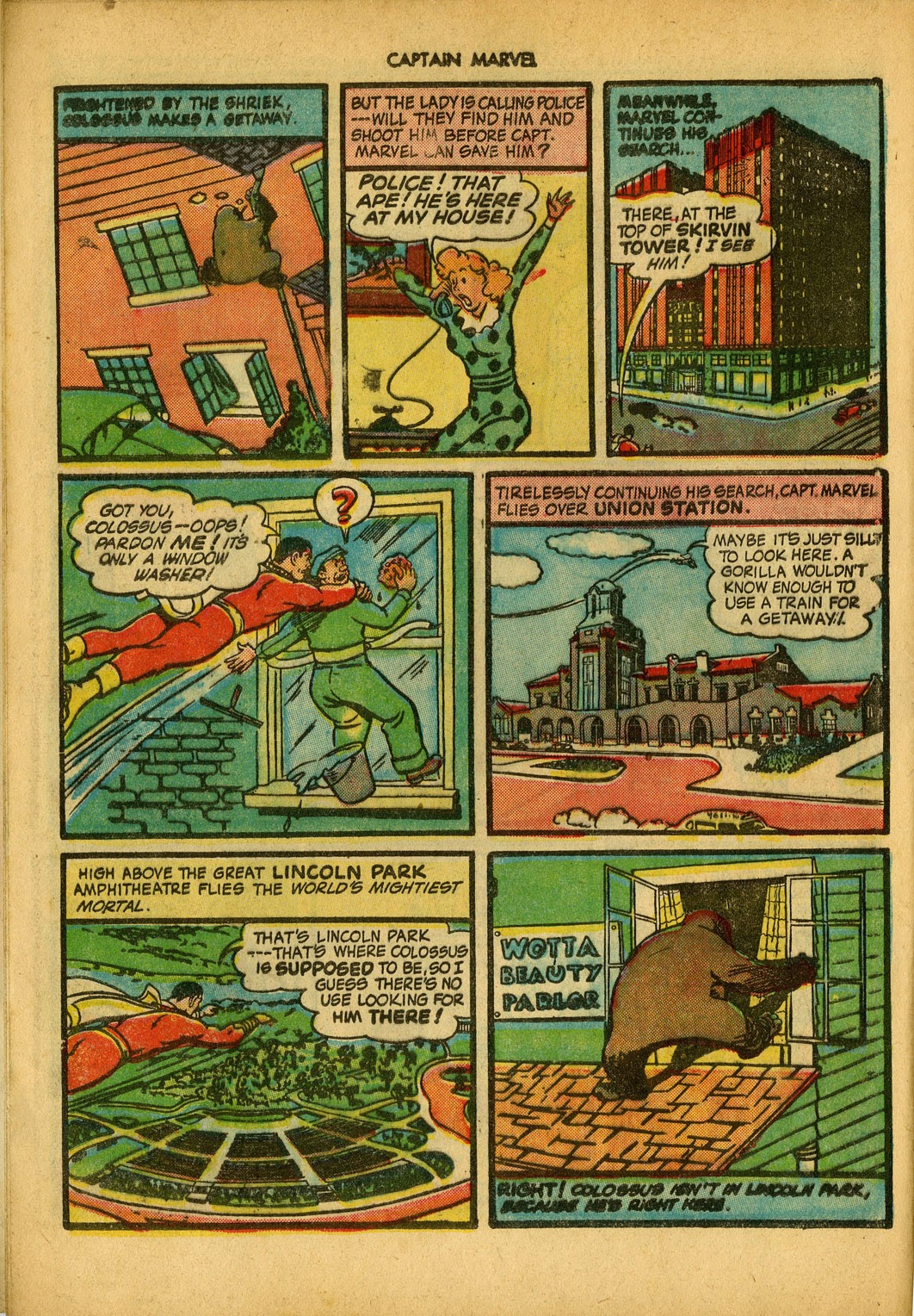 Captain Marvel Adventures issue 34 - Page 8