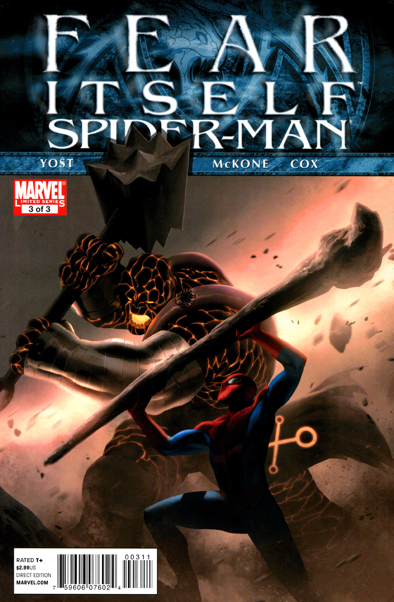 Fear Itself: Spider-Man 3 Page 1