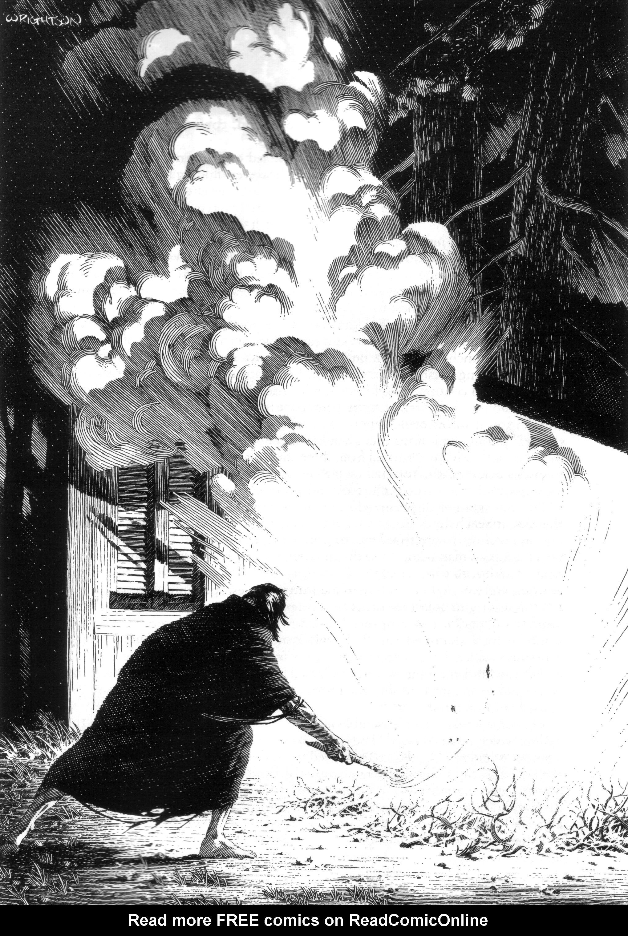 Read online Bernie Wrightson's Frankenstein comic -  Issue # Full - 29