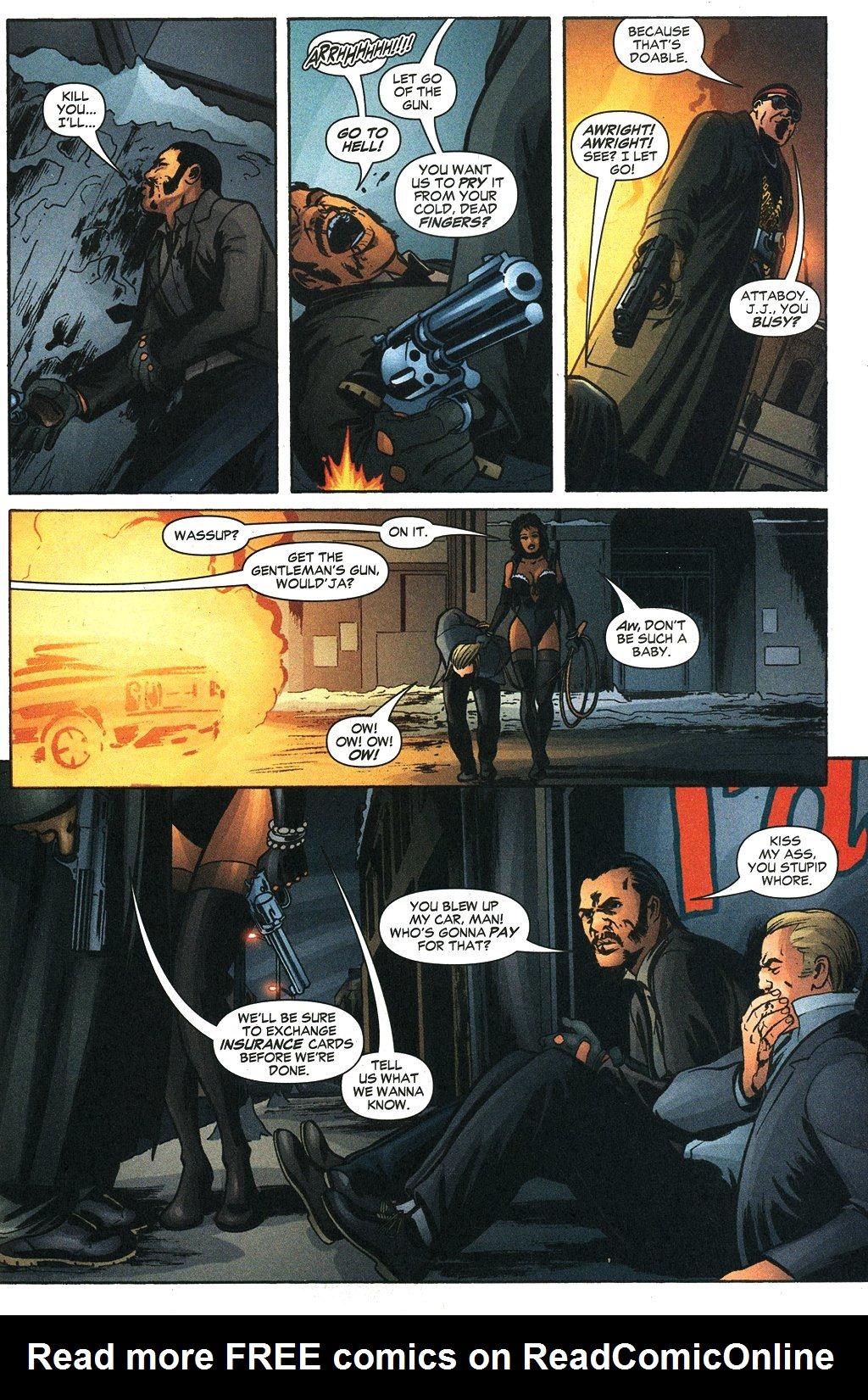 Read online Fallen Angel (2003) comic -  Issue #19 - 7