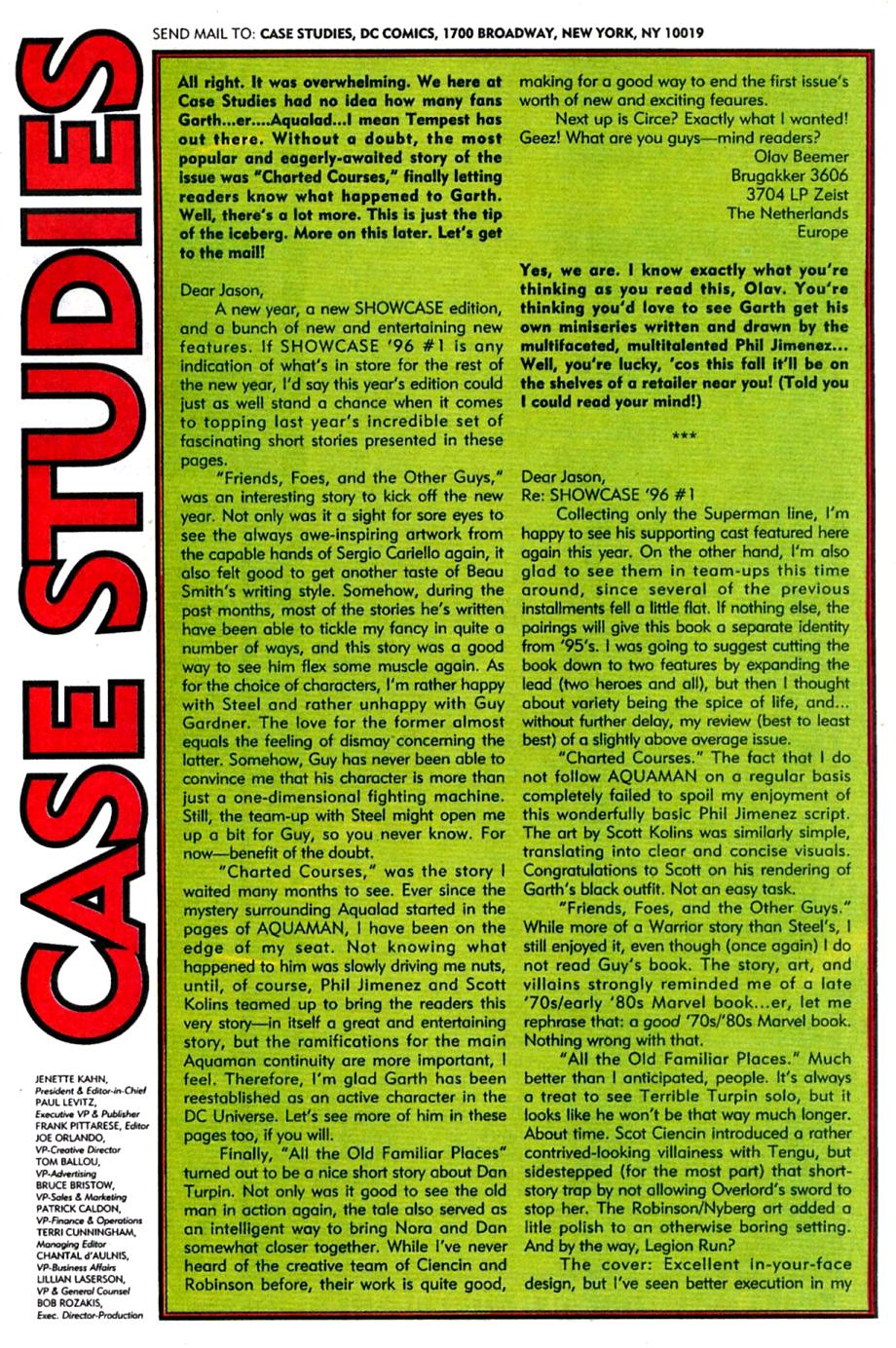 Read online Showcase '96 comic -  Issue #4 - 38