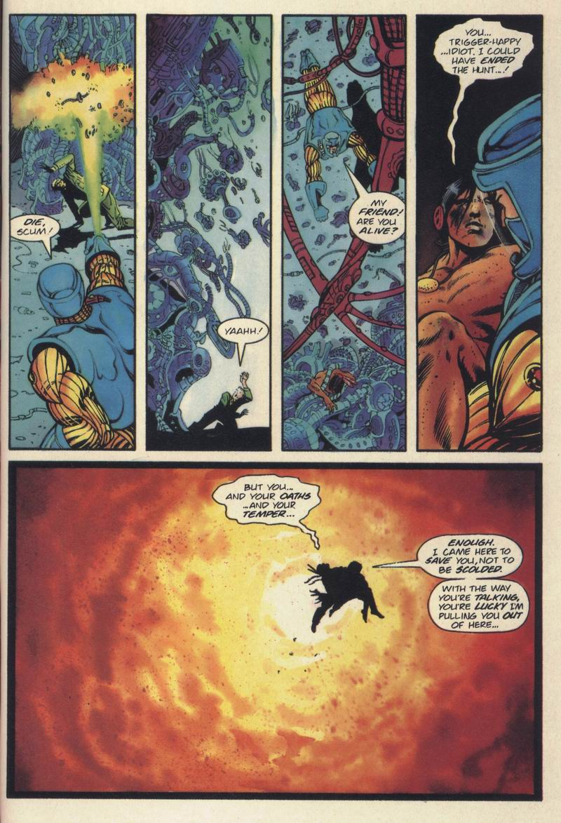 Read online Turok, Dinosaur Hunter (1993) comic -  Issue #19 - 21
