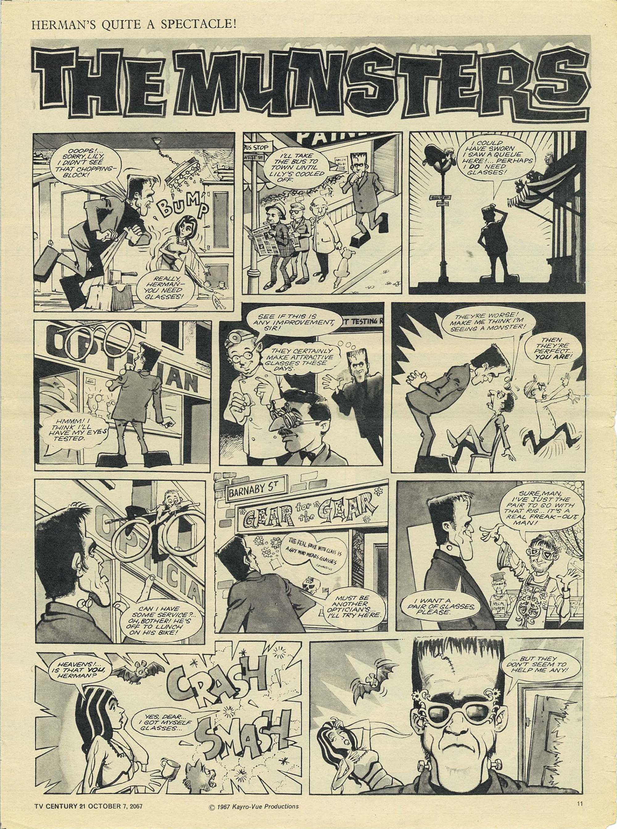 Read online TV Century 21 (TV 21) comic -  Issue #142 - 11
