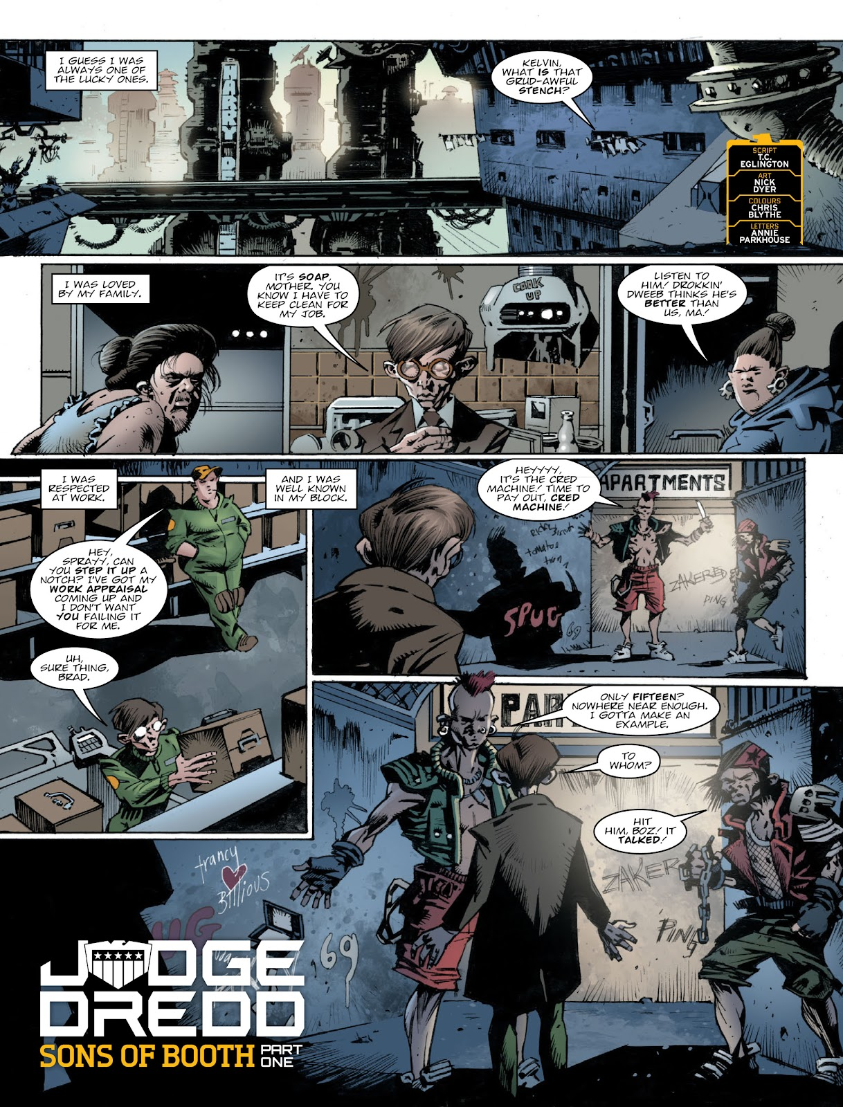 Read online 2000 AD comic -  Issue #2030 - 3