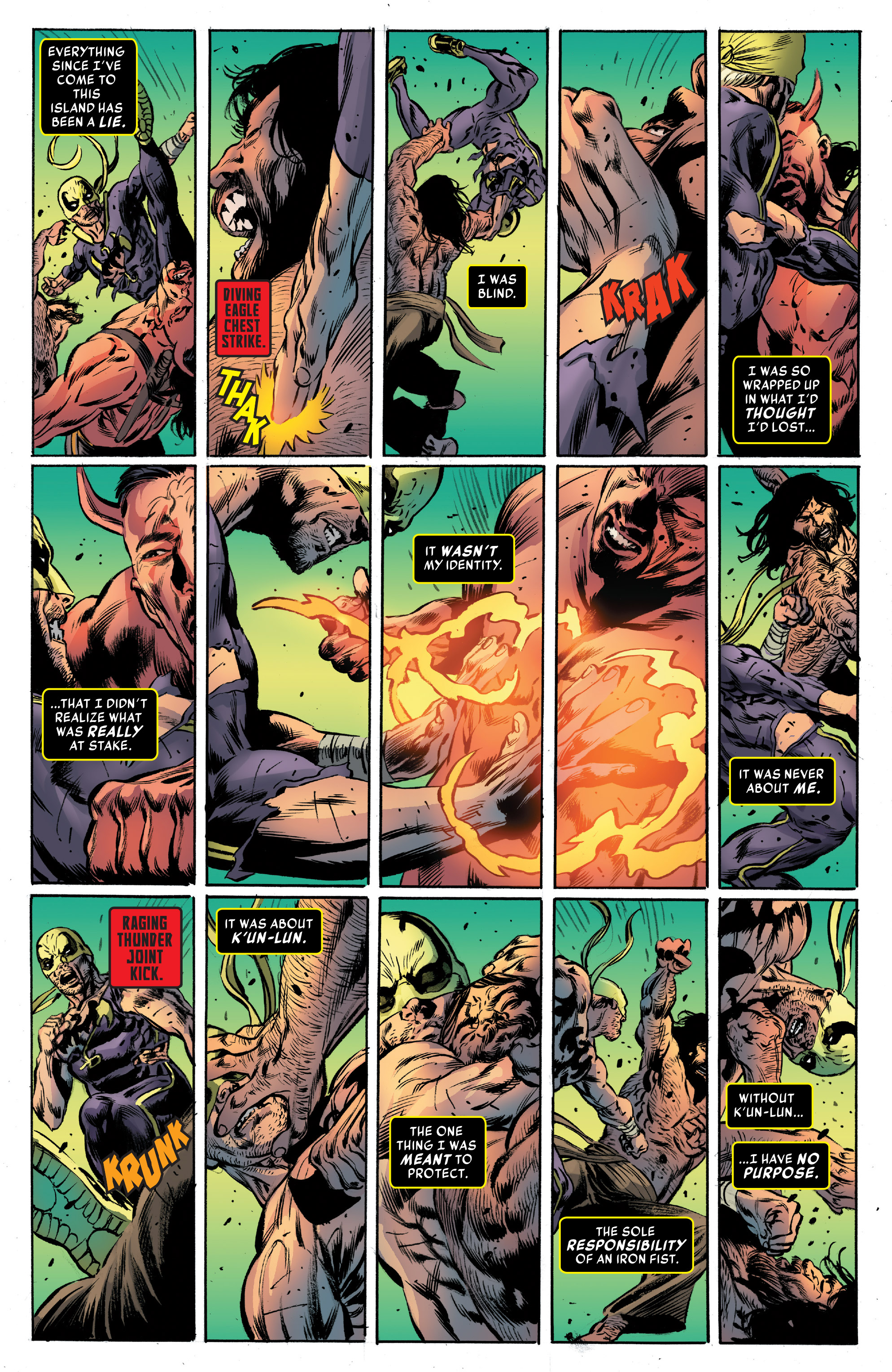 Read online Iron Fist (2017) comic -  Issue #4 - 20