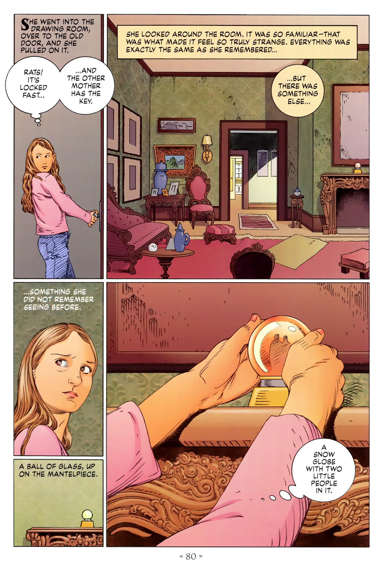 Read online Coraline comic -  Issue #1 - 86