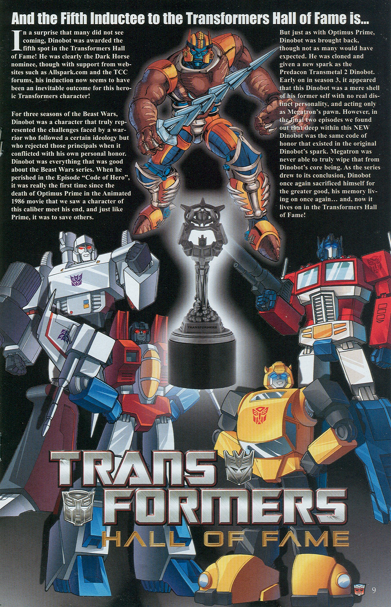 Read online Transformers: Collectors' Club comic -  Issue #34 - 9