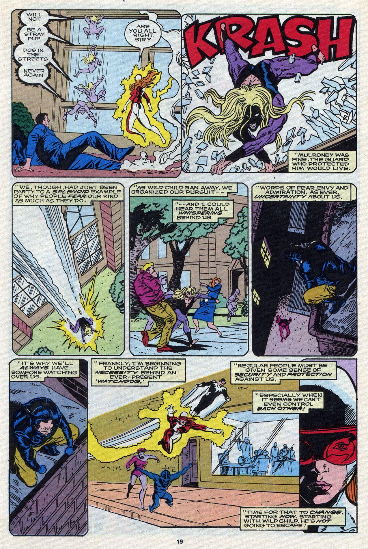 Read online Alpha Flight (1983) comic -  Issue #87 - 20