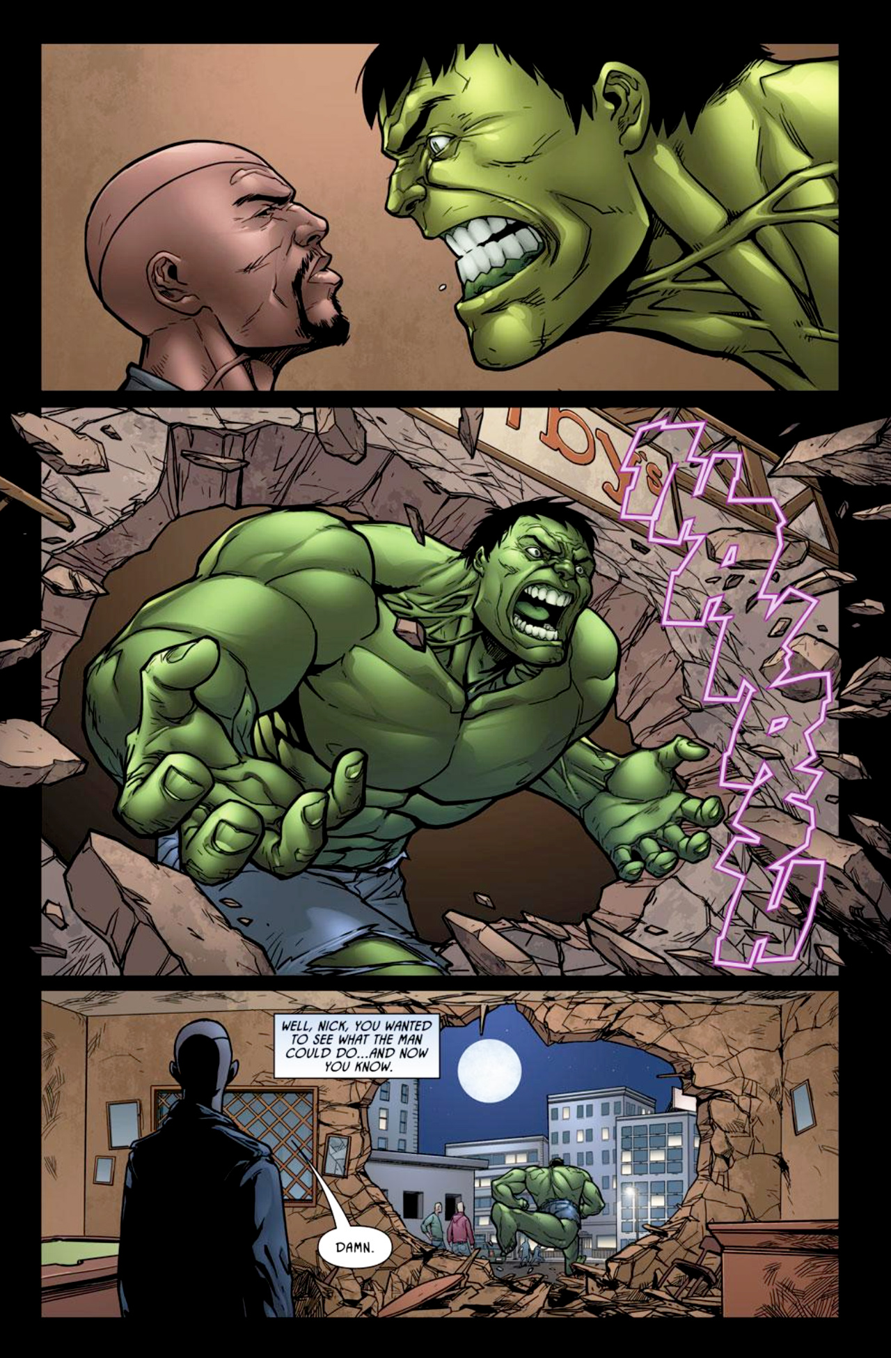 Read online Incredible Hulk: The Fury Files comic -  Issue #2 - 7