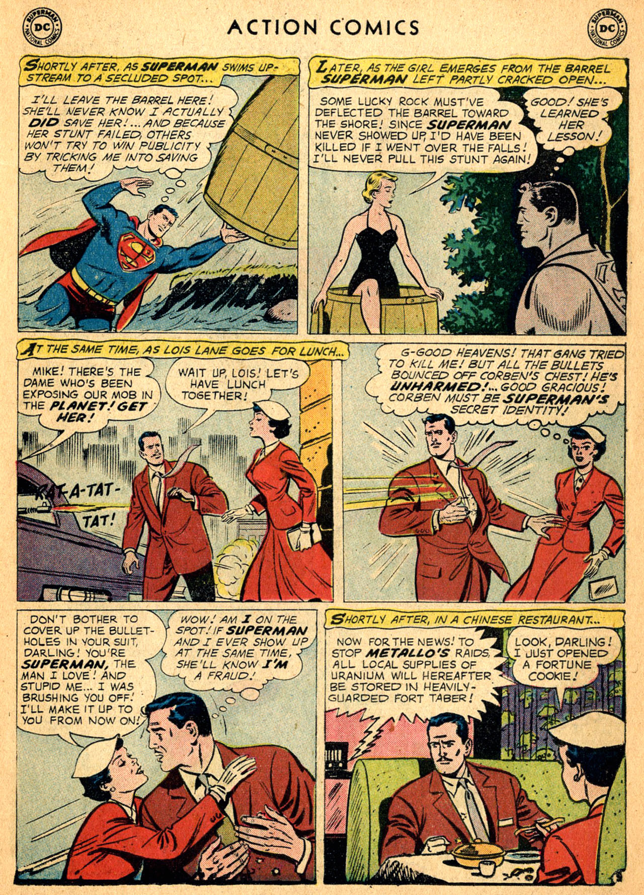 Read online Action Comics (1938) comic -  Issue #252 - 11