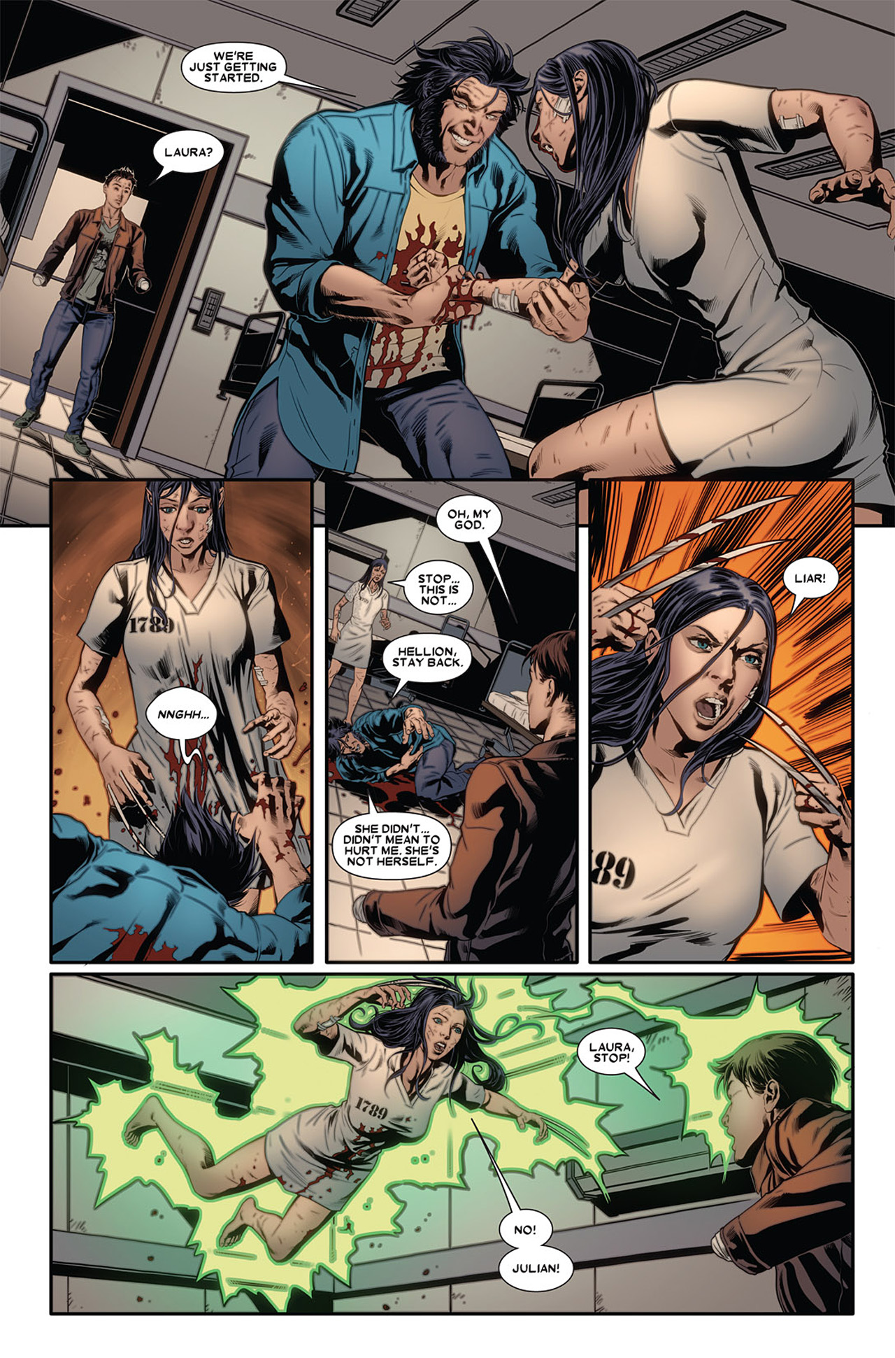 Read online X-23 (2010) comic -  Issue #2 - 18