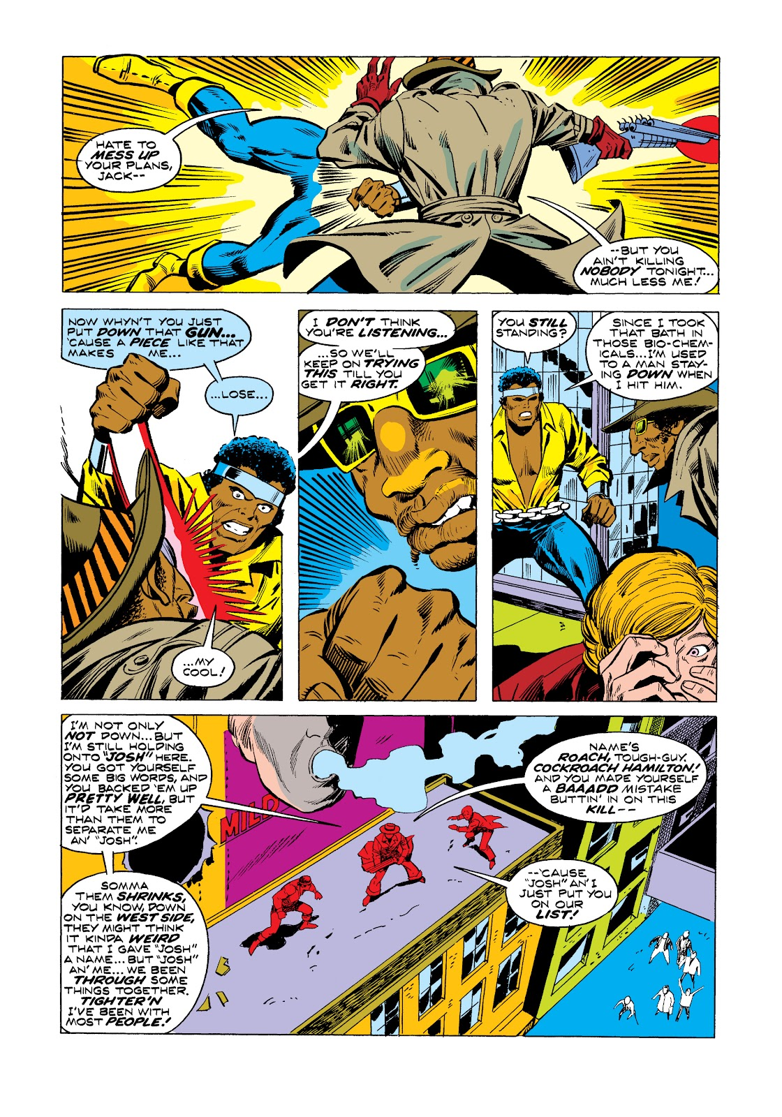 Read online Marvel Masterworks: Luke Cage, Power Man comic -  Issue # TPB 2 (Part 3) - 22