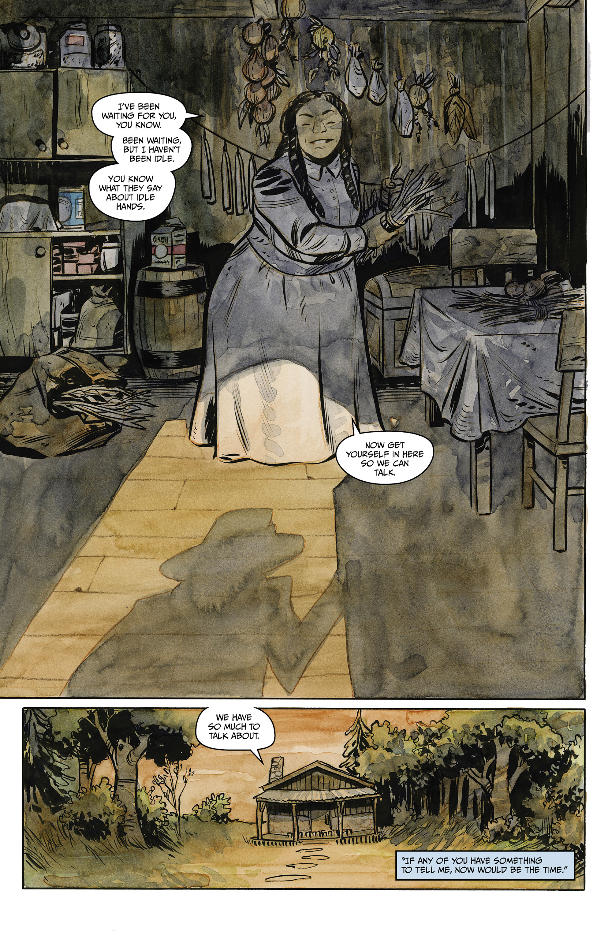Read online Harrow County comic -  Issue #23 - 19