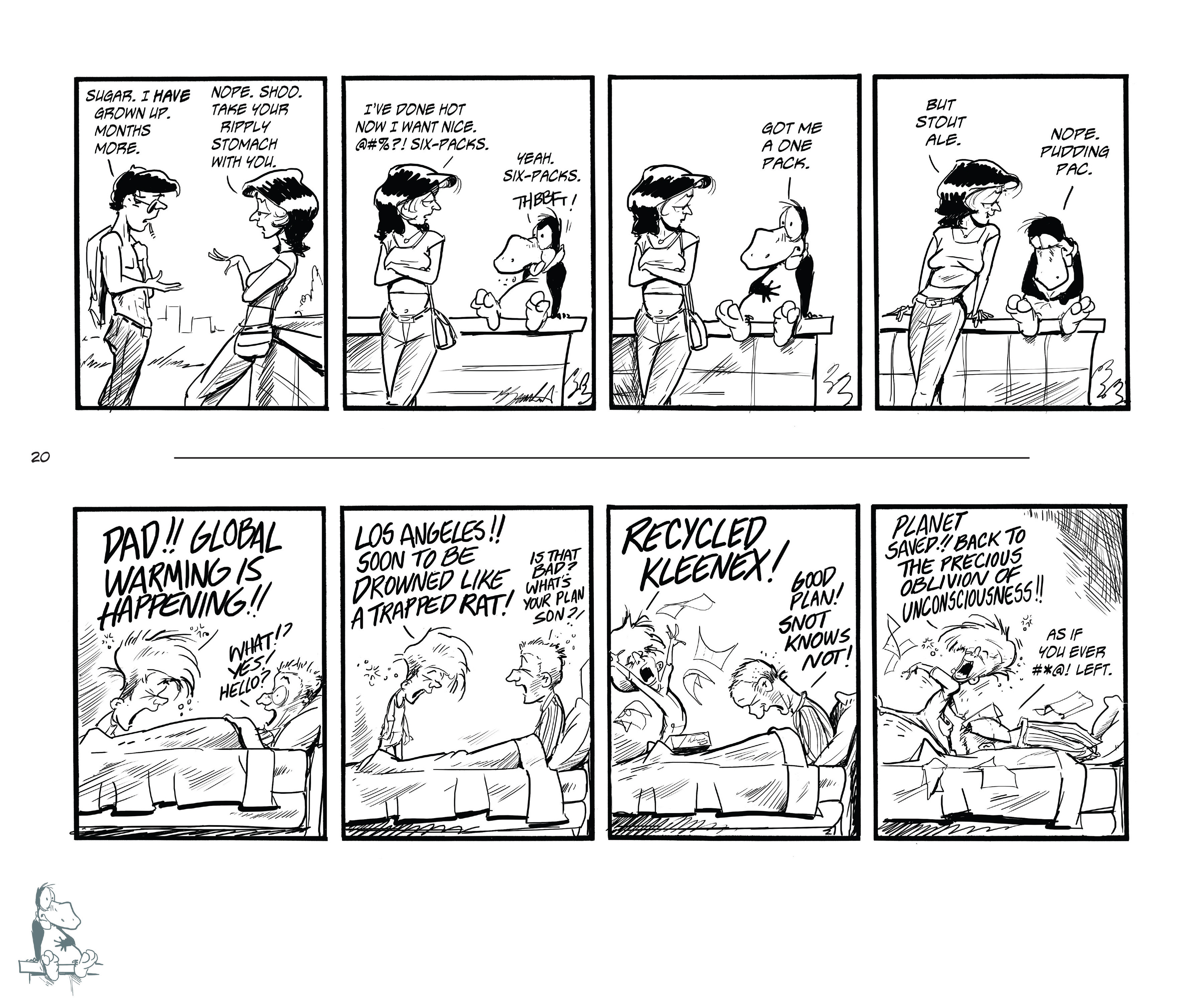 Read online Bloom County Episode XI: A New Hope comic -  Issue # Full - 22
