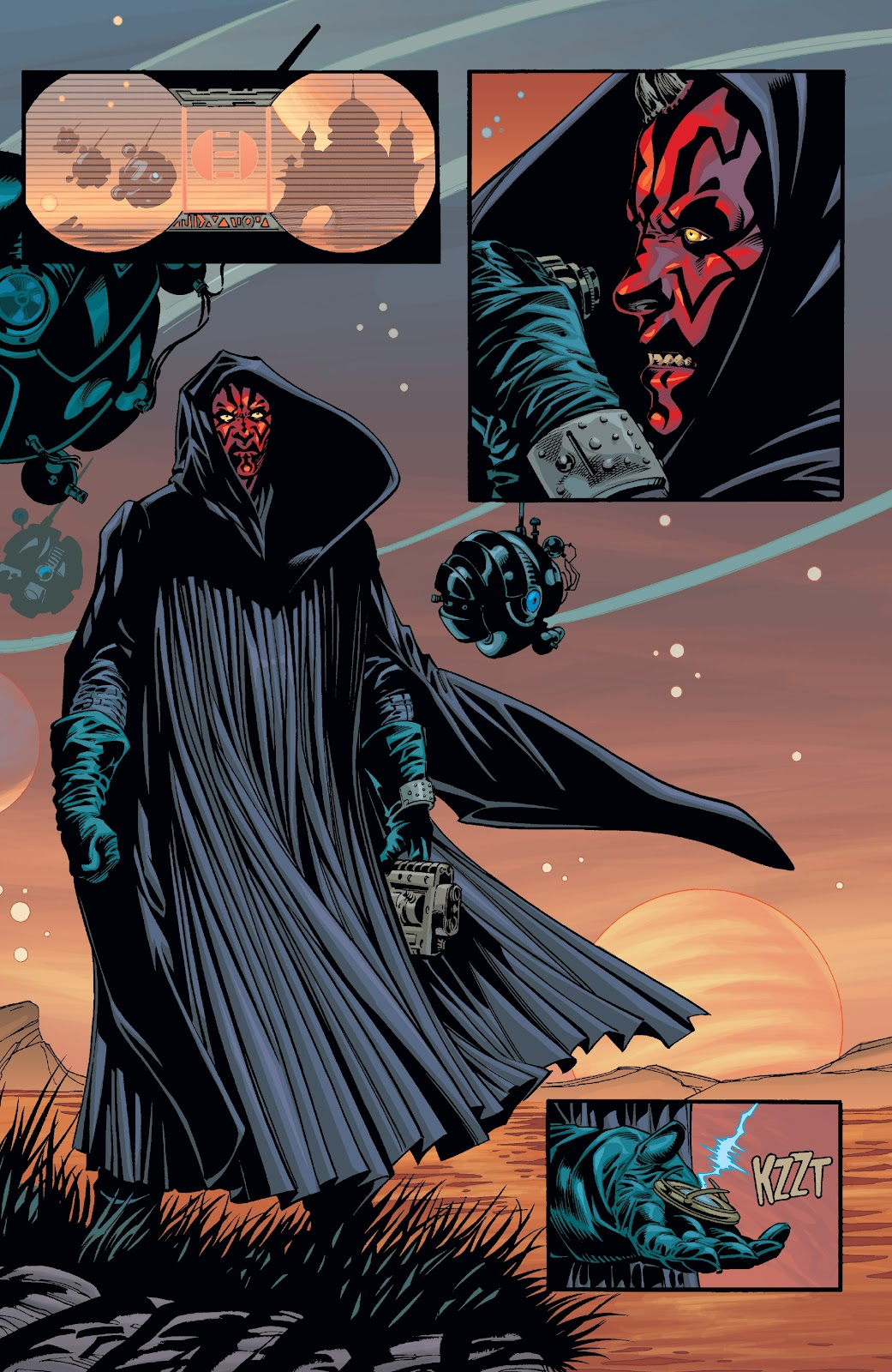 Read online Star Wars Legends: Rise of the Sith - Epic Collection comic -  Issue # TPB 2 (Part 2) - 95
