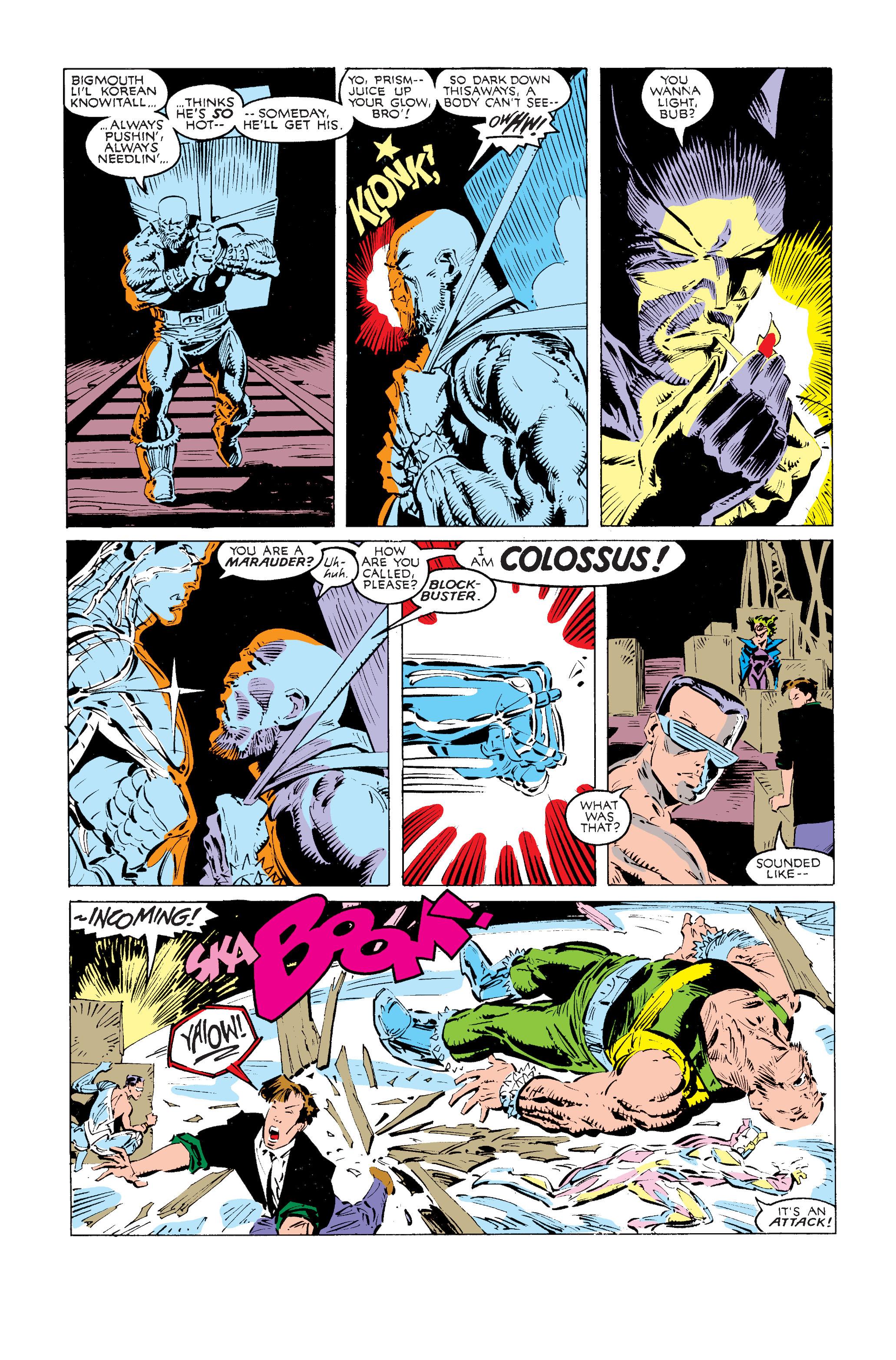 Read online Uncanny X-Men (1963) comic -  Issue #240 - 17