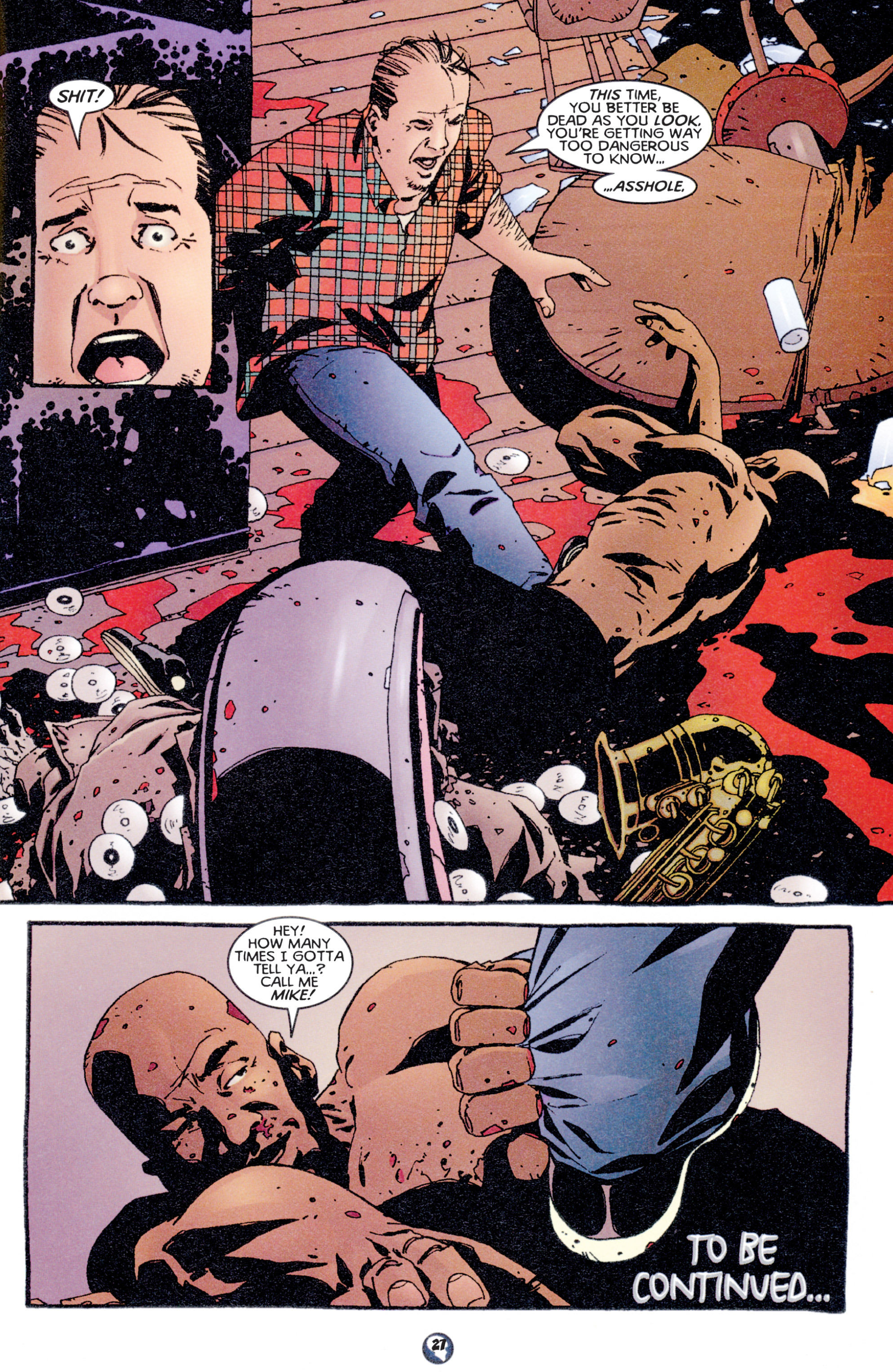 Read online Shadowman (1997) comic -  Issue #5 - 22