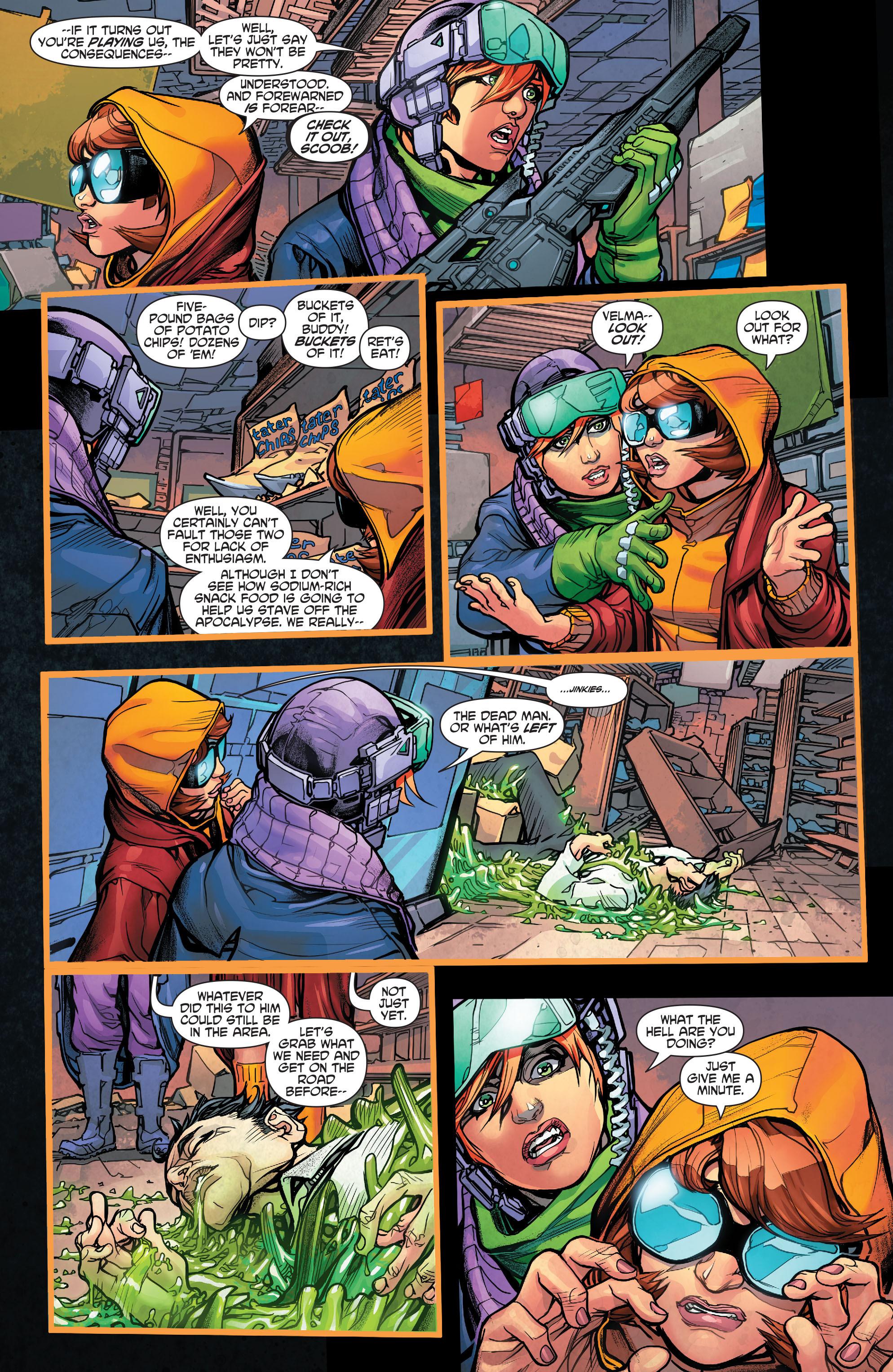 Read online Scooby Apocalypse comic -  Issue #4 - 22