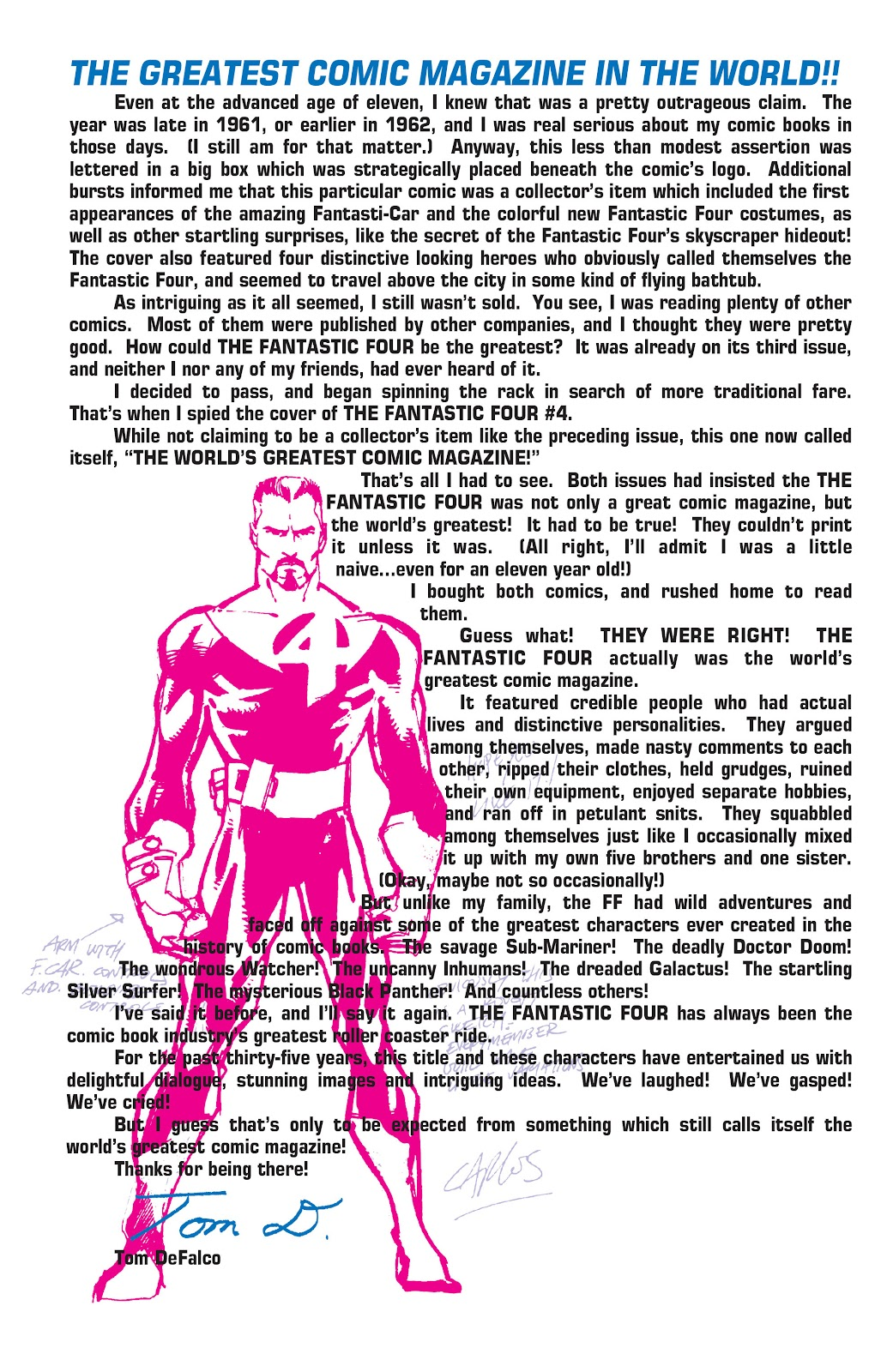Read online Fantastic Four: The Legend comic -  Issue # Full - 5